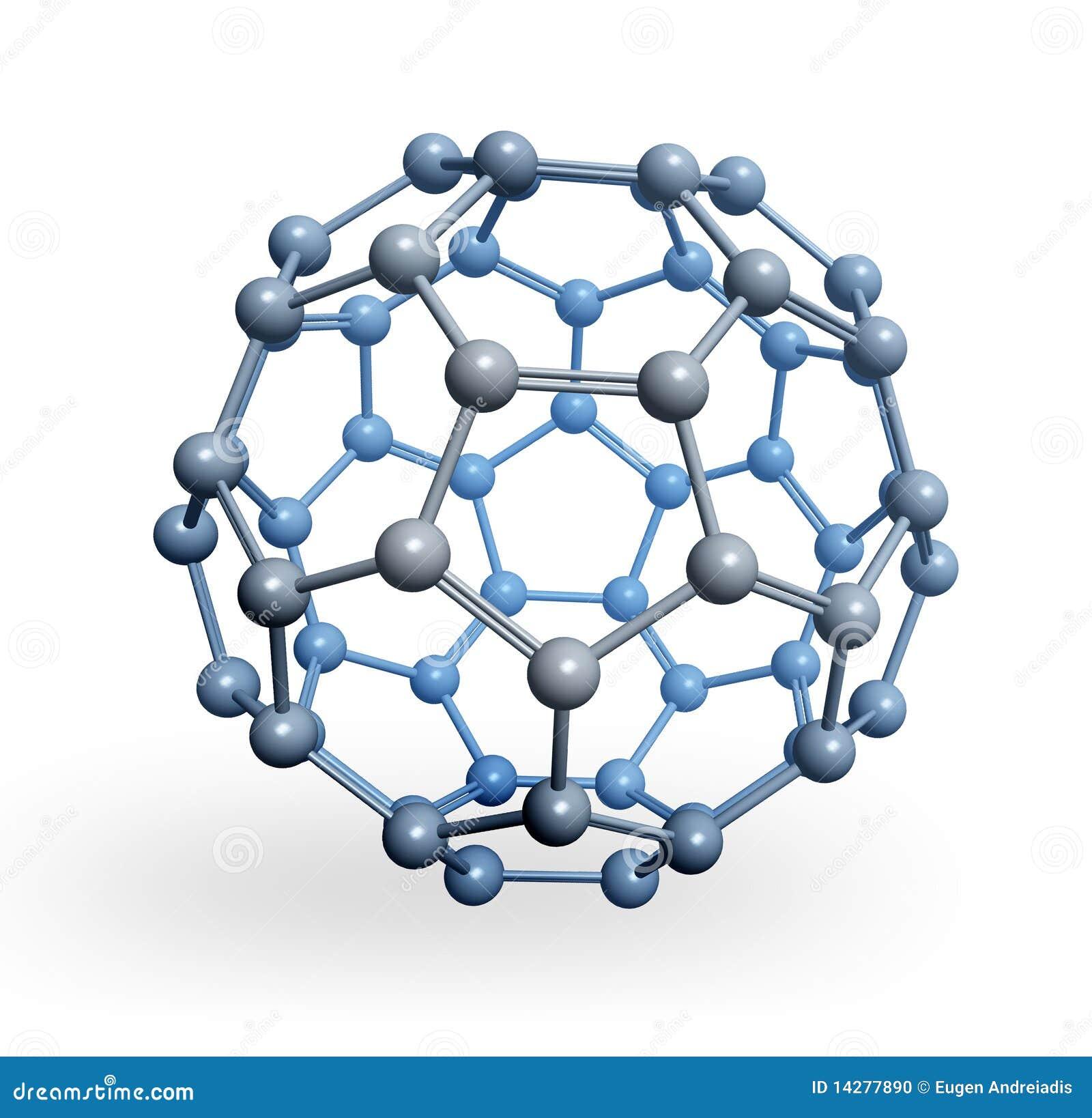 Rappresentazione sferica della molecola 3D