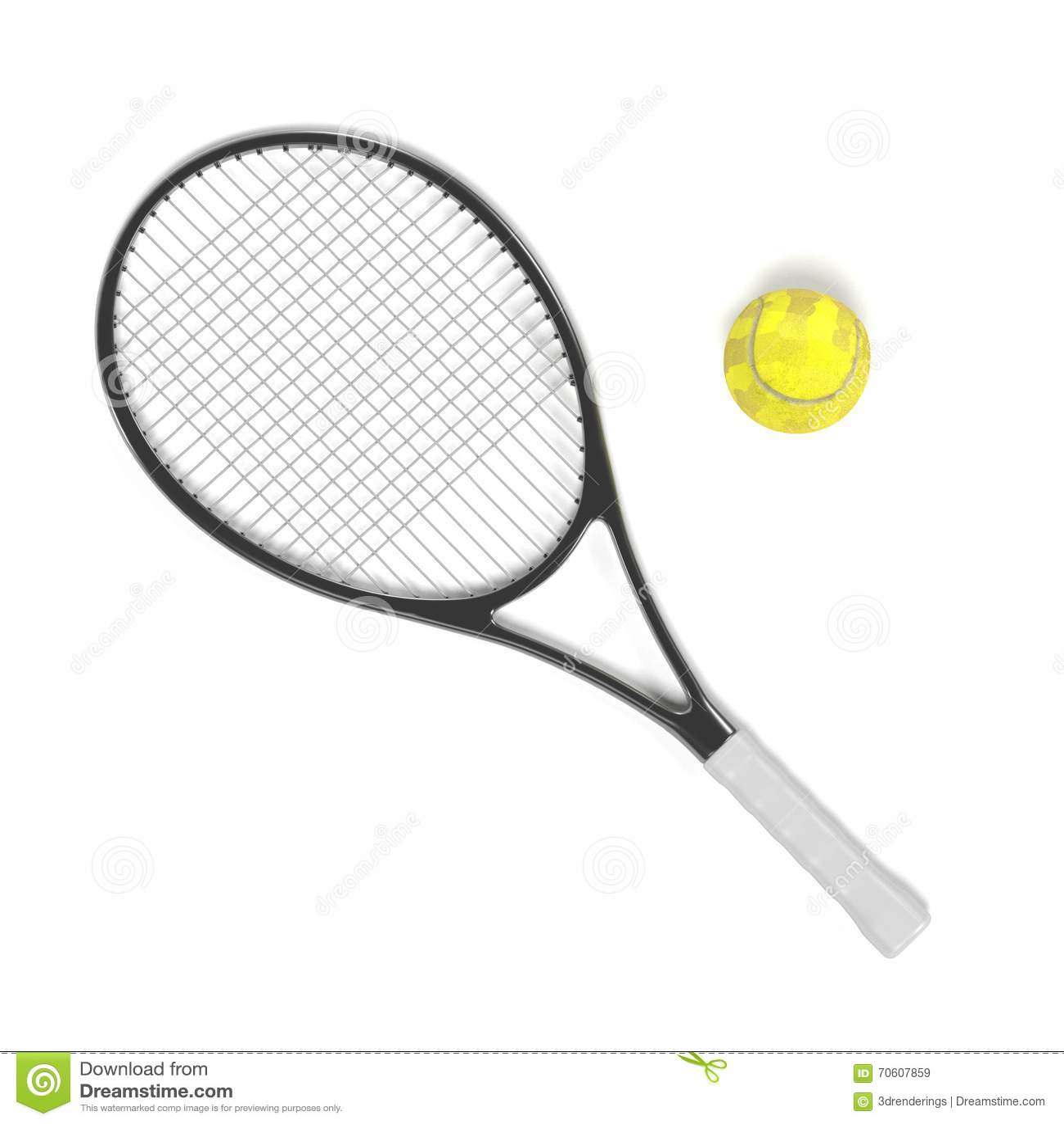 Tenis pelota stock de ilustracion ilustracion libre de stock de - Raqueta Y Bola De Tenis