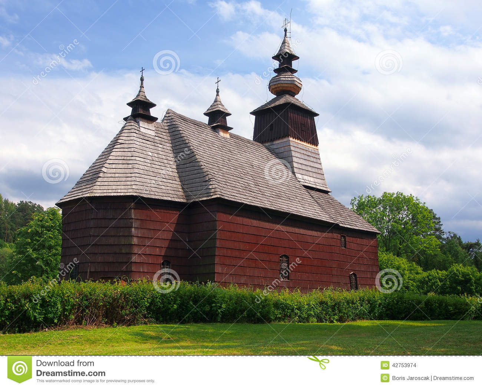 A rare church in Stara Lubovna, Spis, Slovakia