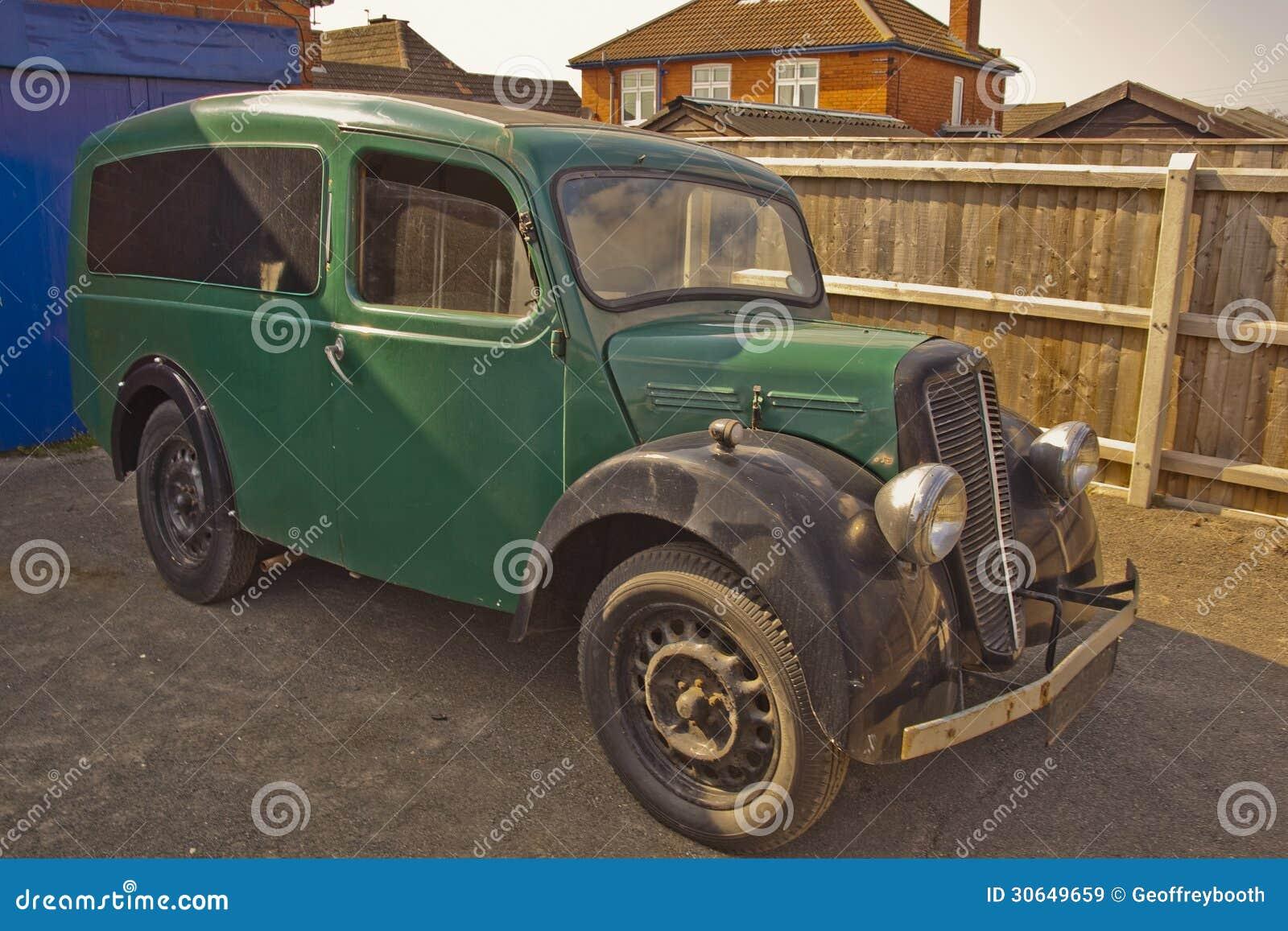 A Rare Find, Old Morris Delivery Van.
