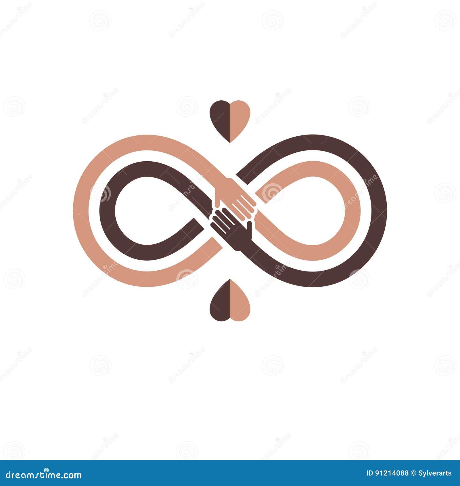 Ras- tolerans mellan det begreppsmässiga symbolet för olika nationer, mor