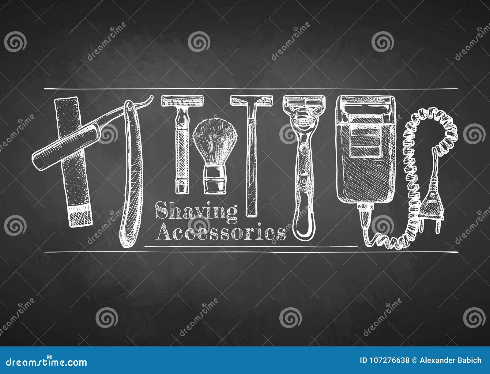 Rasatura degli accessori sulla lavagna