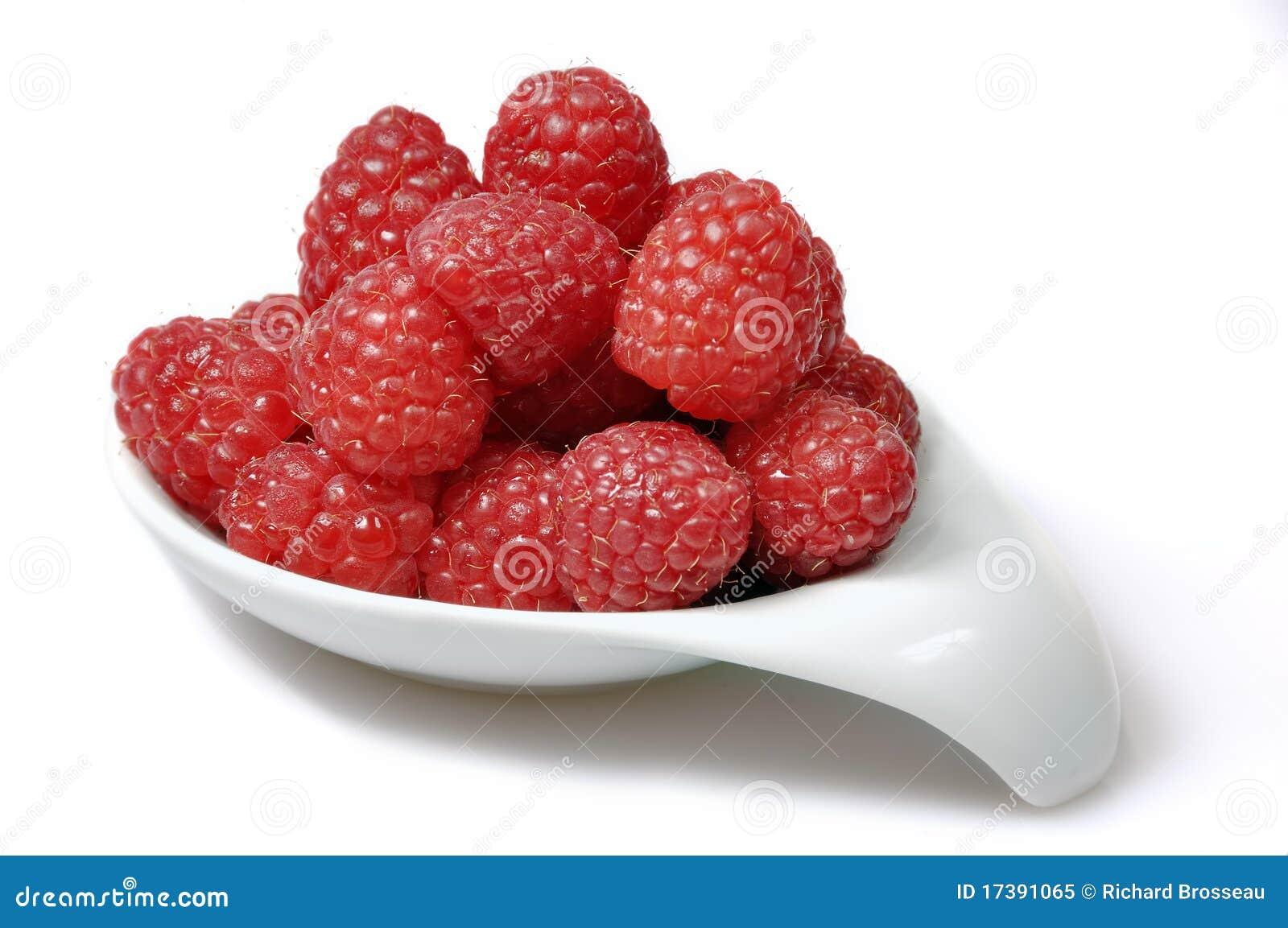 Rasberries dans un paraboloïde