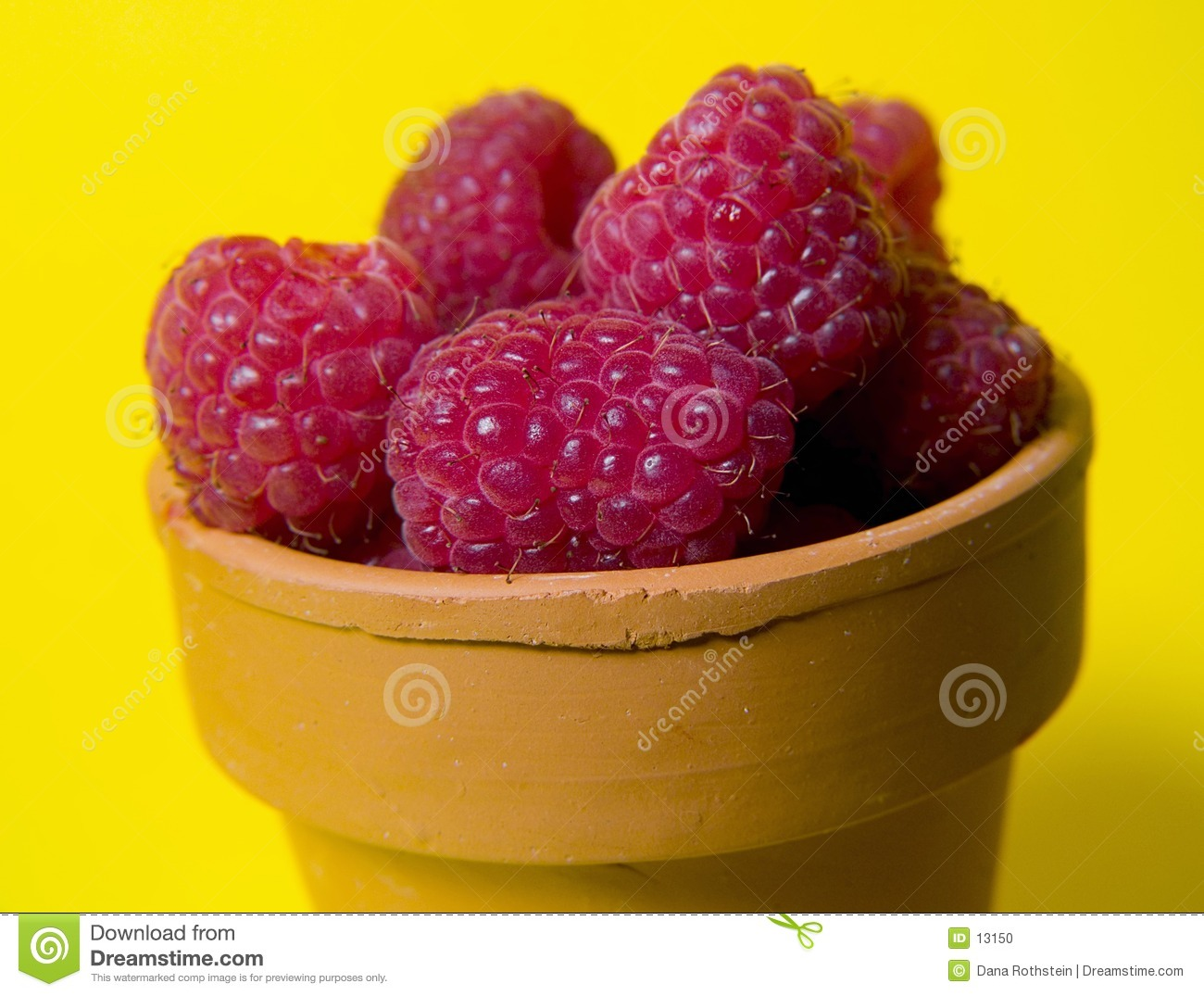 Rasberries no potenciômetro