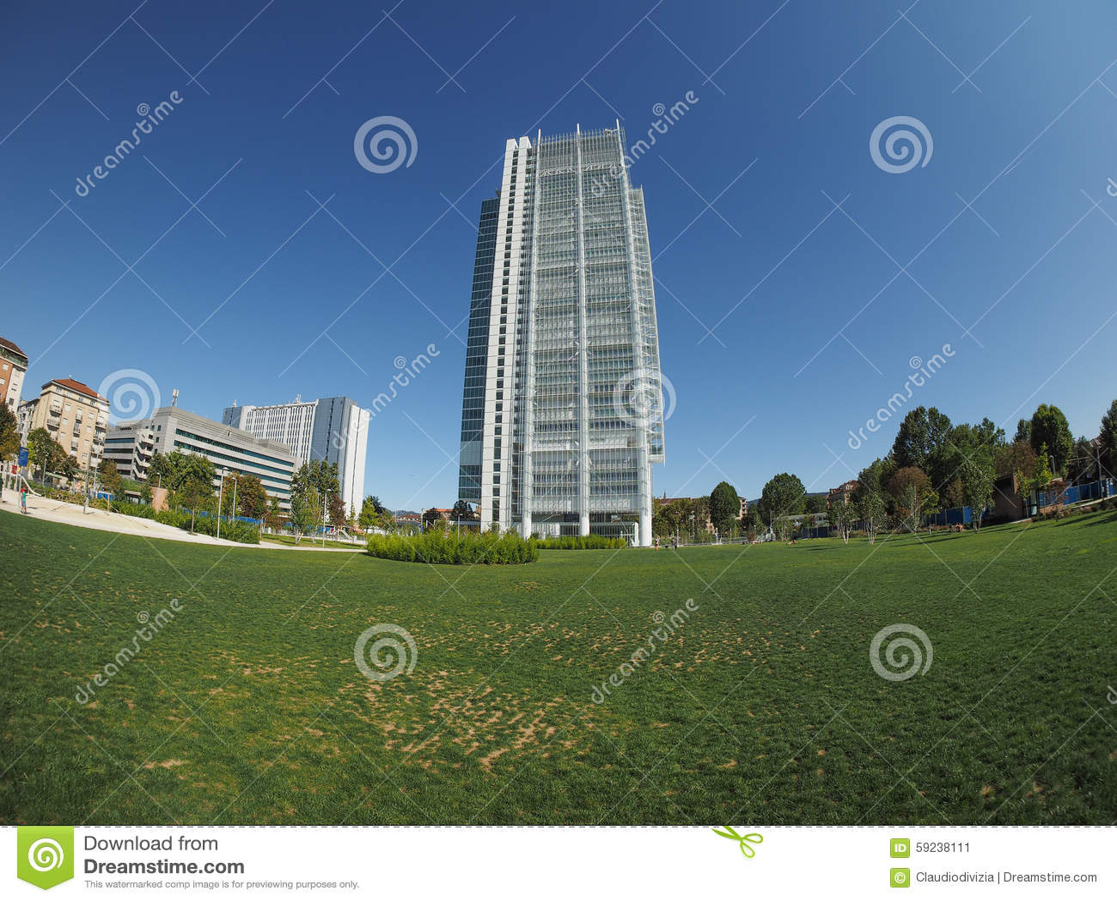 Download Rascacielos De San Paolo En Turín Imagen de archivo - Imagen de wide, piedmont: 59238111