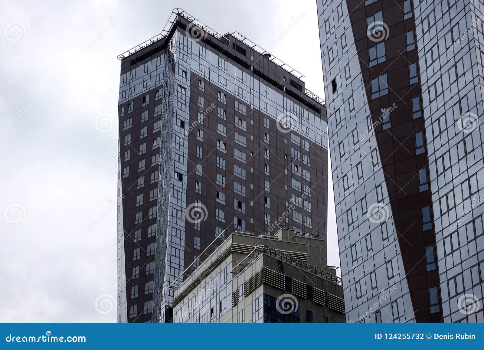 Rascacielos en la megalópoli