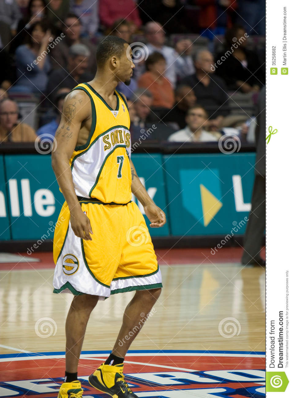 Rashard Lewis Editorial graphy Image