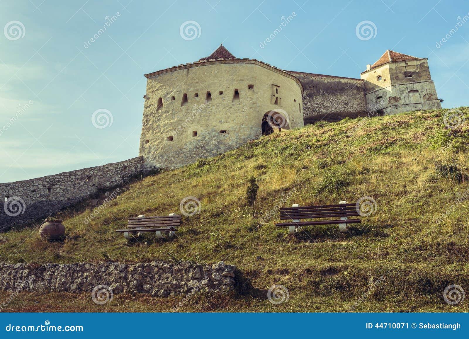 Rasnov中世纪城堡,罗马尼亚