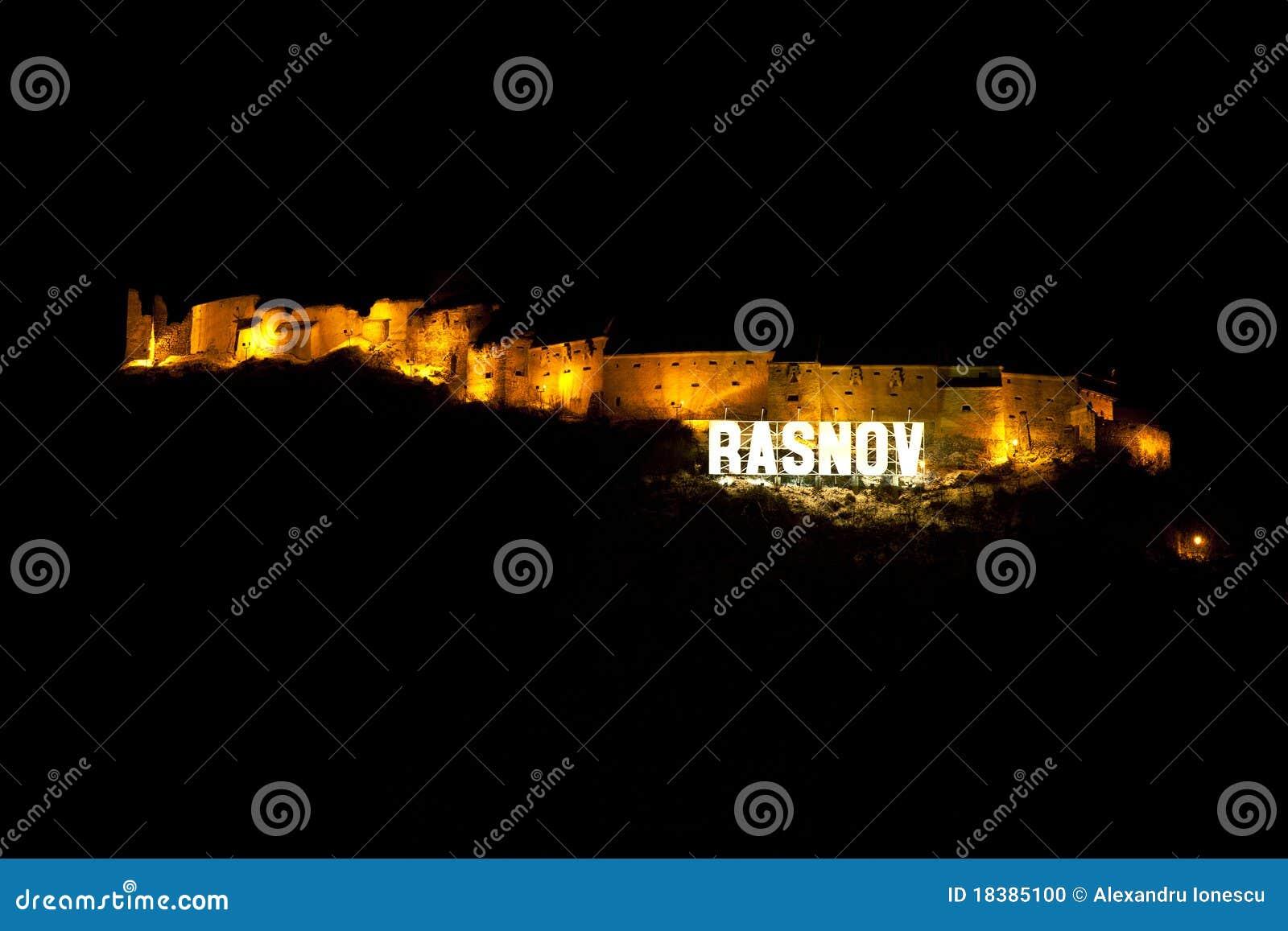 Rasnov Румыния крепости графства brasov