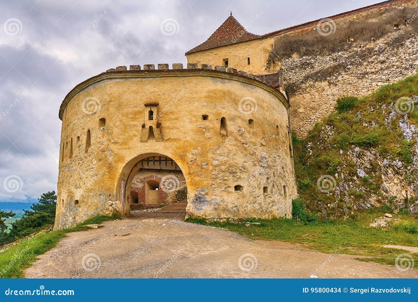 Rasnov Citadel in Romania
