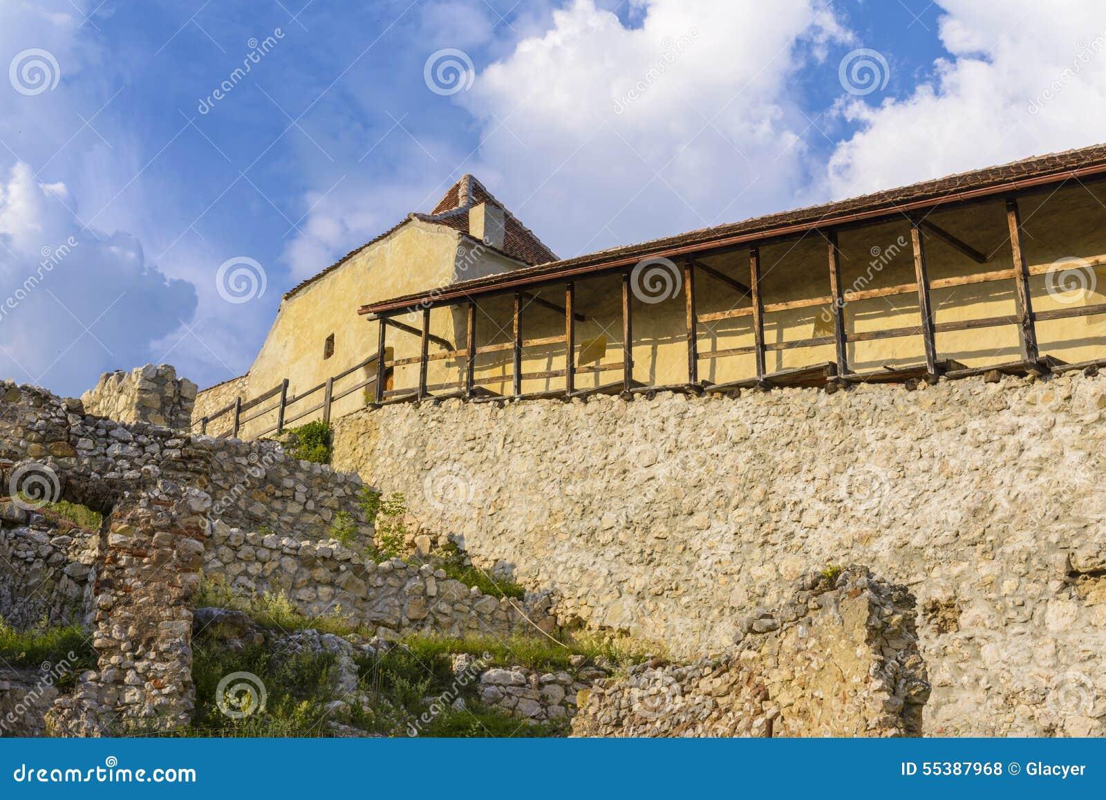 Rasnov forteca inside