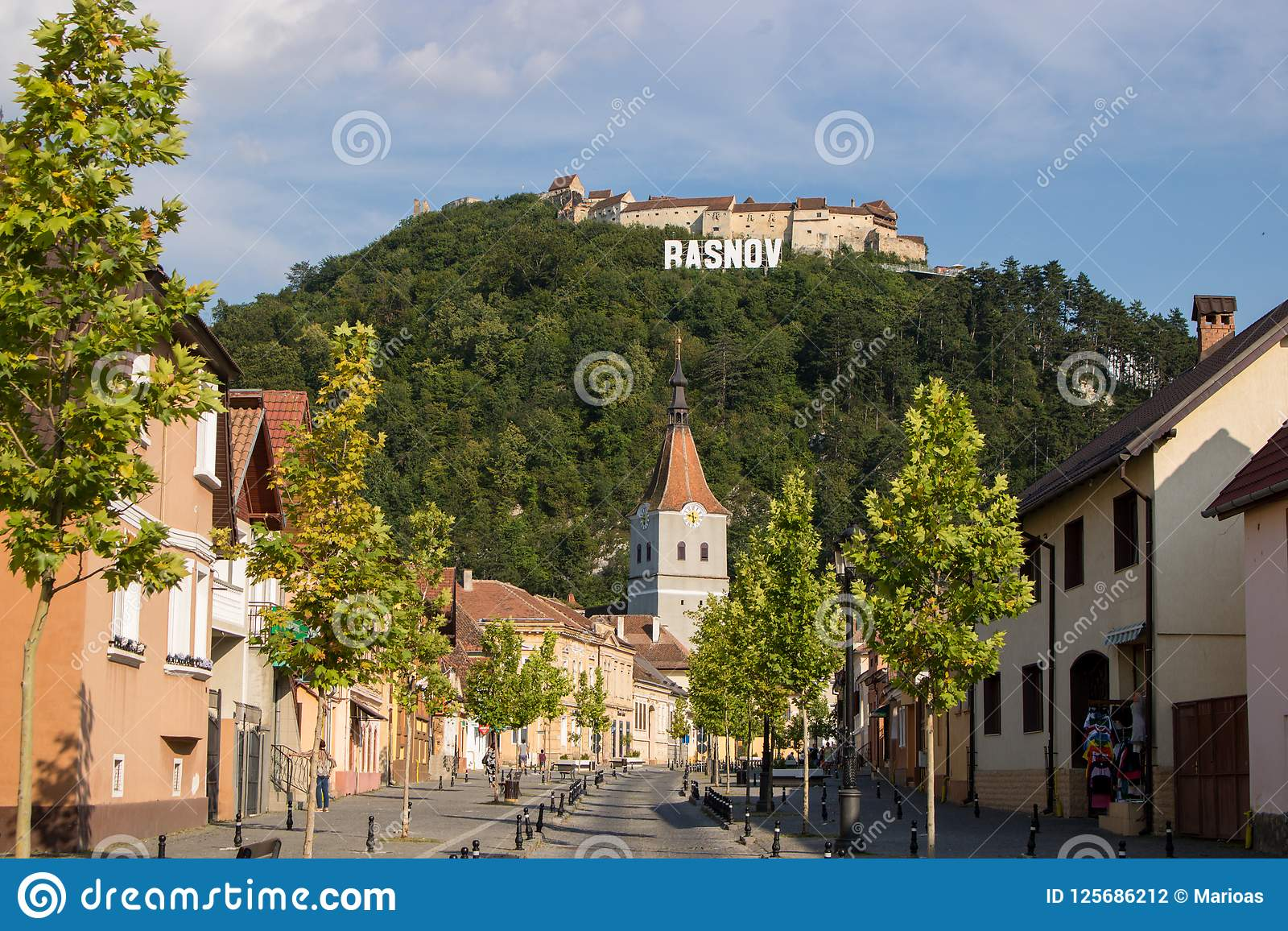 The Rasnov Fortress, Romania