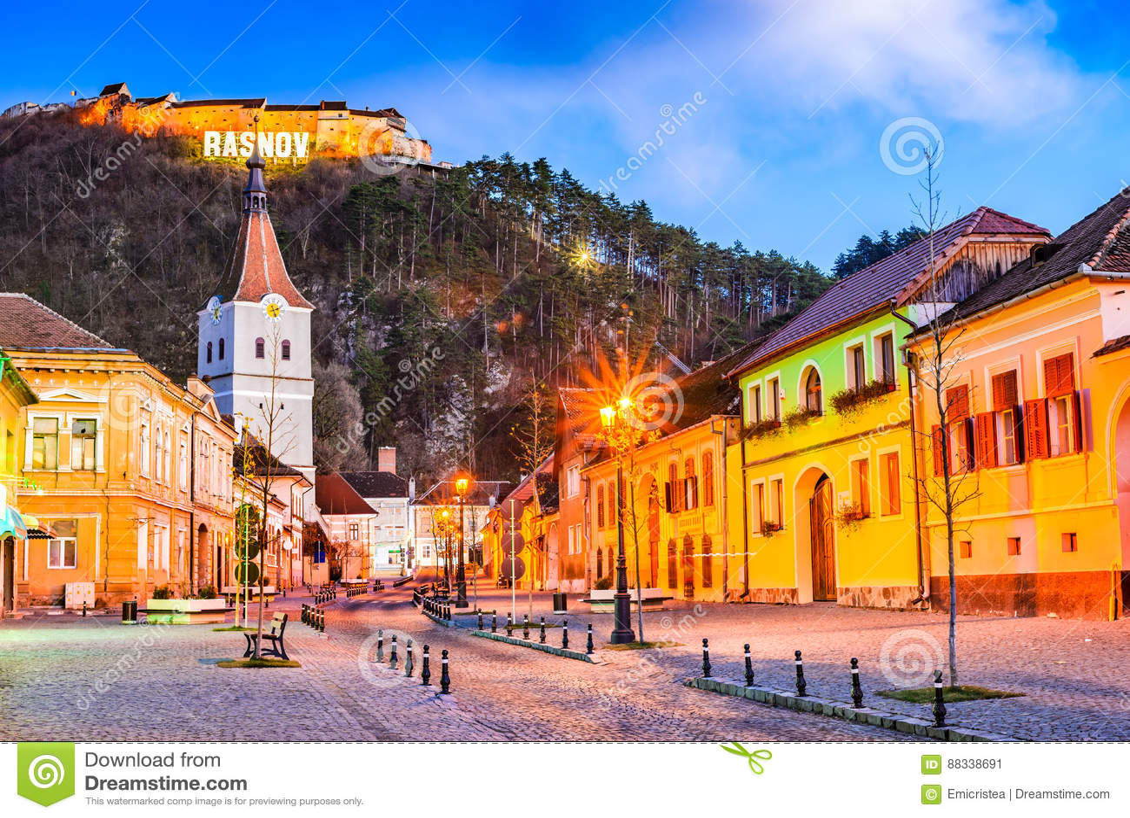 Rasnov, Rumänien