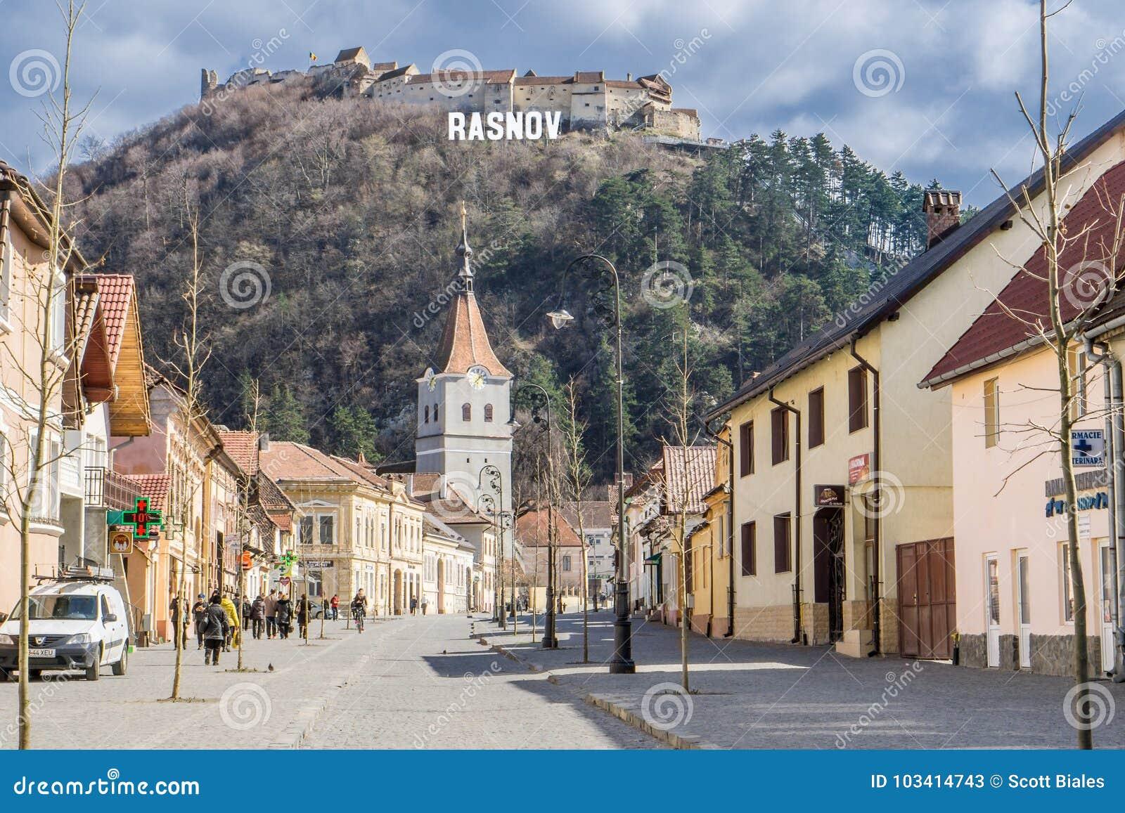 Rasnov Rumunia, Transylvania