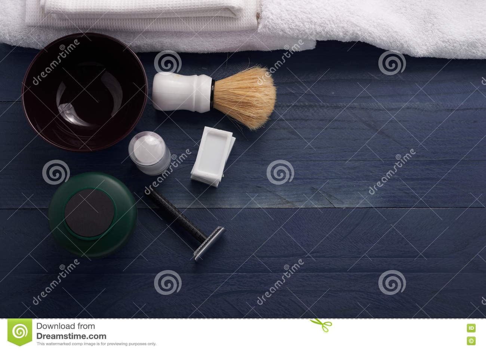 Rasoir rasant des accessoires