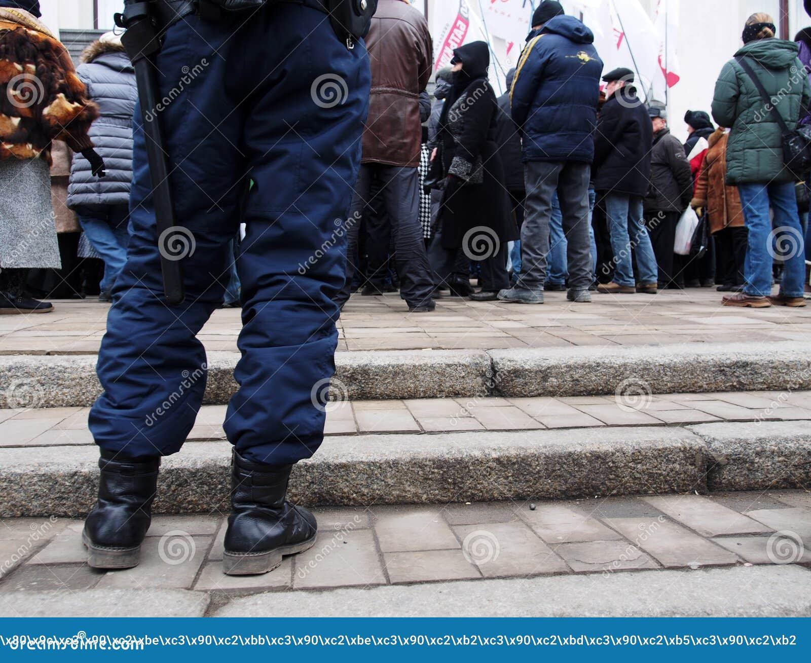 Rassemblement d opposition dans Lugansk