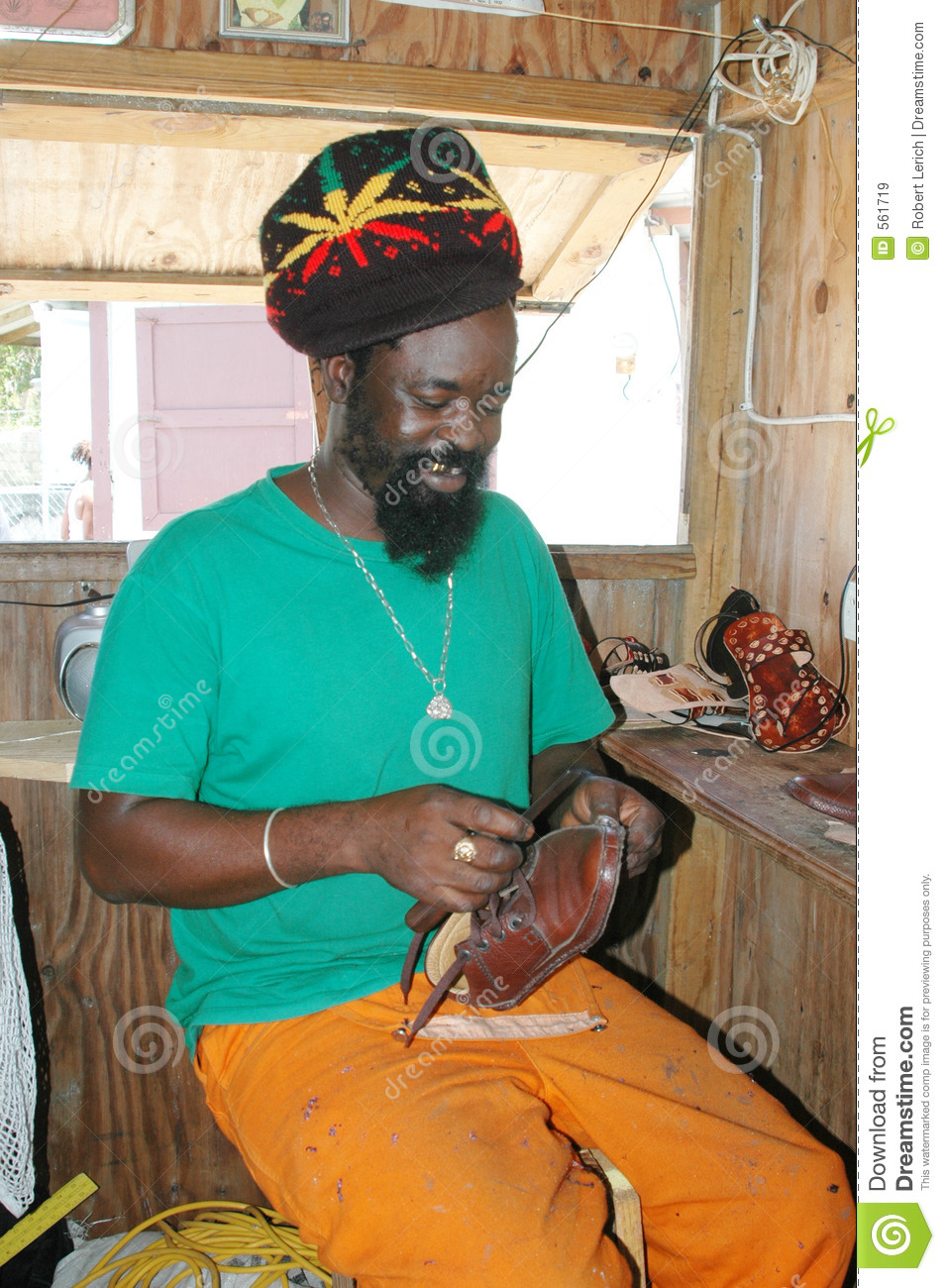 Rasta man leather craftsman carriacou stock image image of rasta man leather craftsman carriacou publicscrutiny Image collections