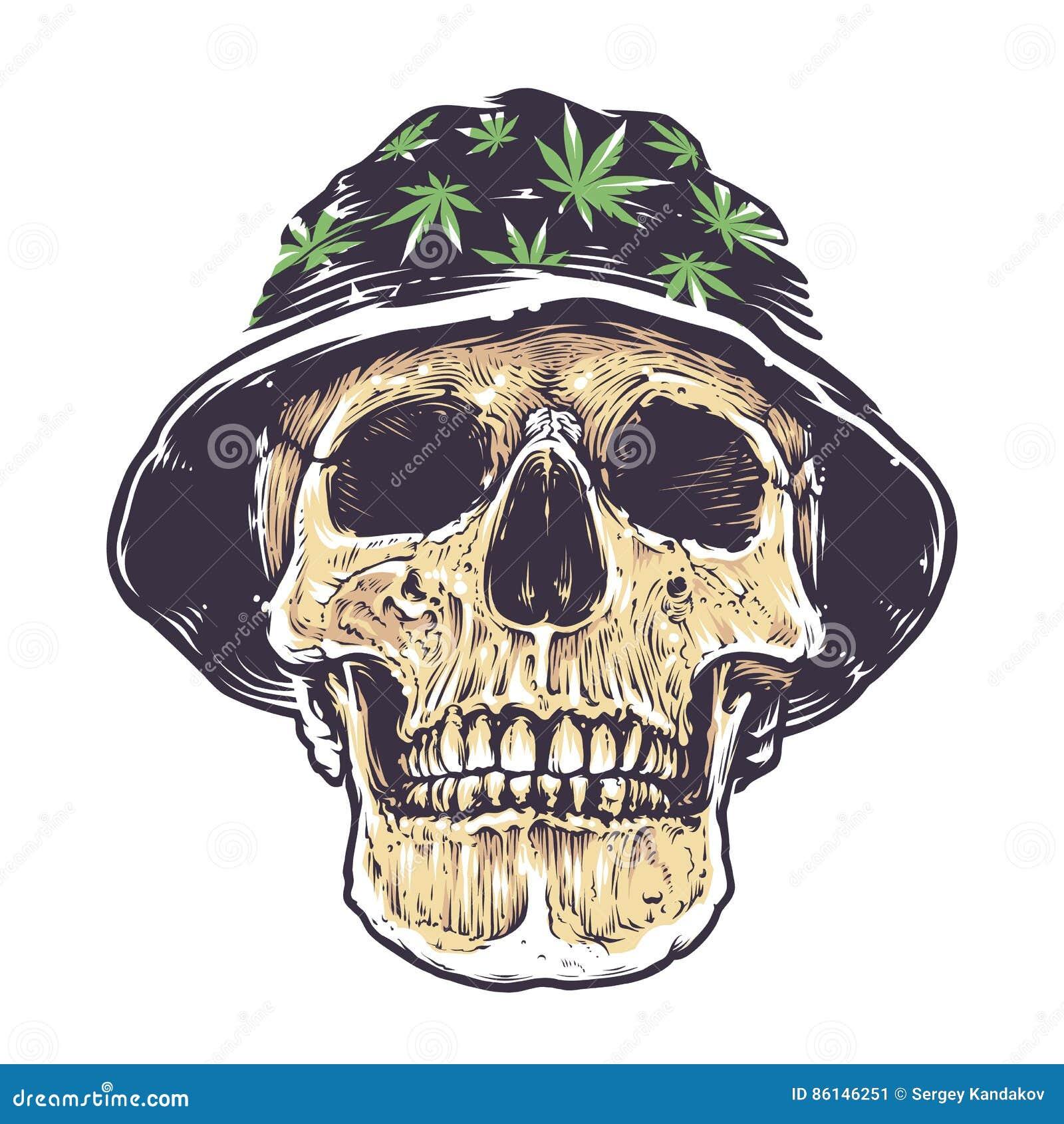Rasta skull in hat stock vector illustration of symbol 86146251 rasta skull in hat biocorpaavc Image collections
