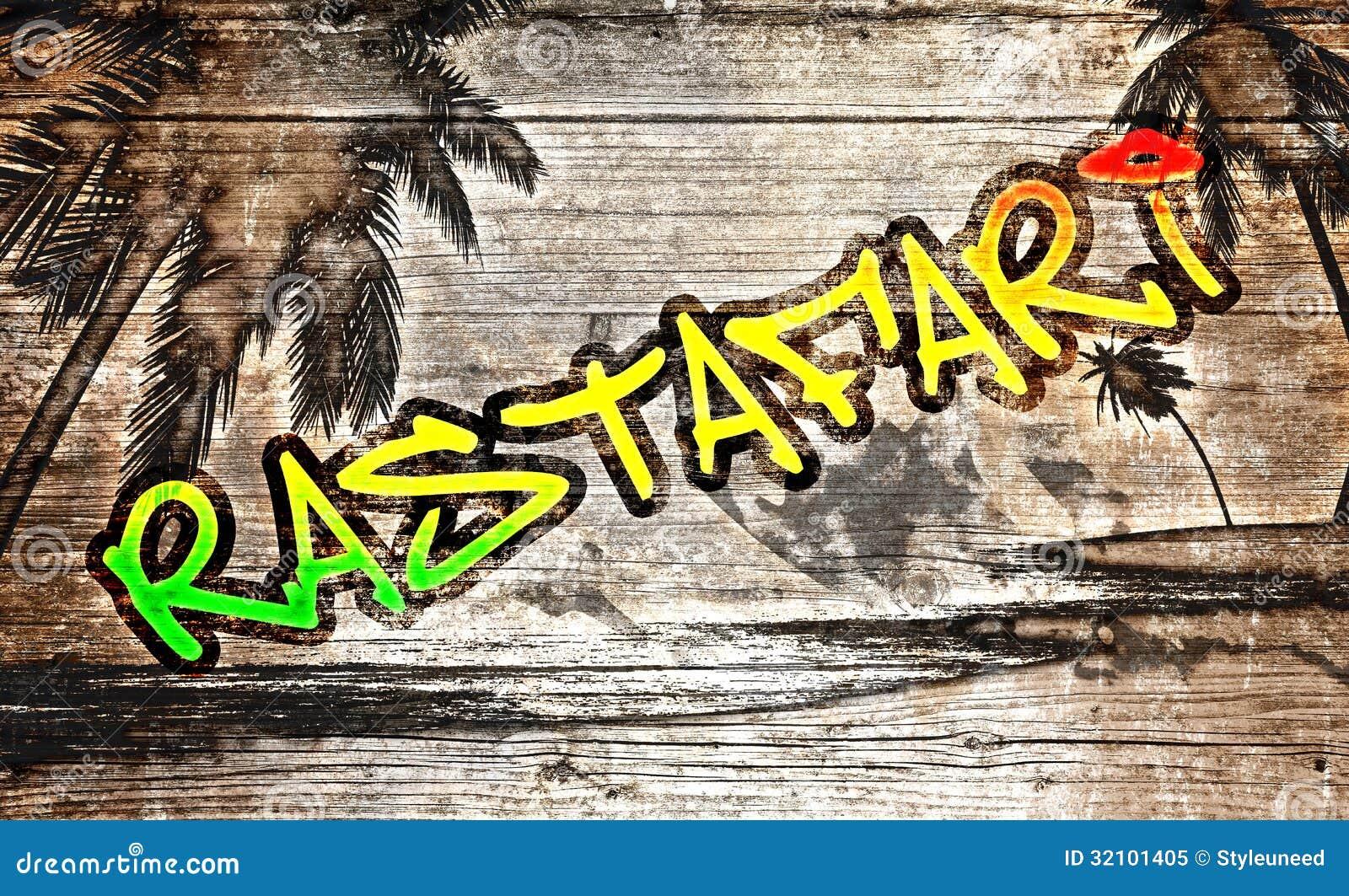 Rastafari graffiti download preview