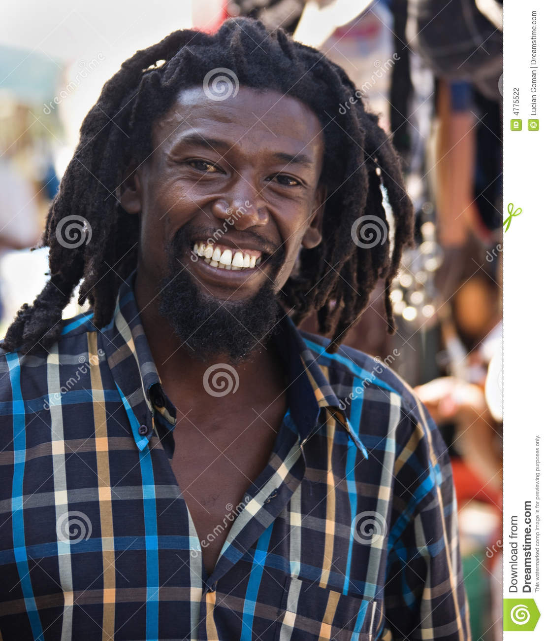 Rastafarian 2: Rastafarian Stock Photo. Image Of Culture, Teeth, African