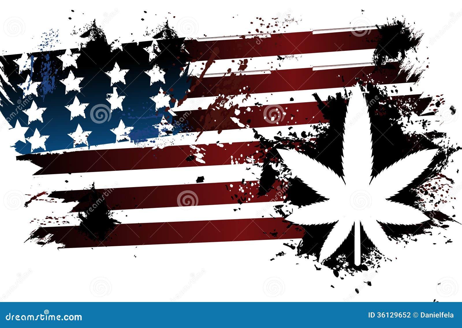 Rastafarian American Flag Stock Photography Image 36129652