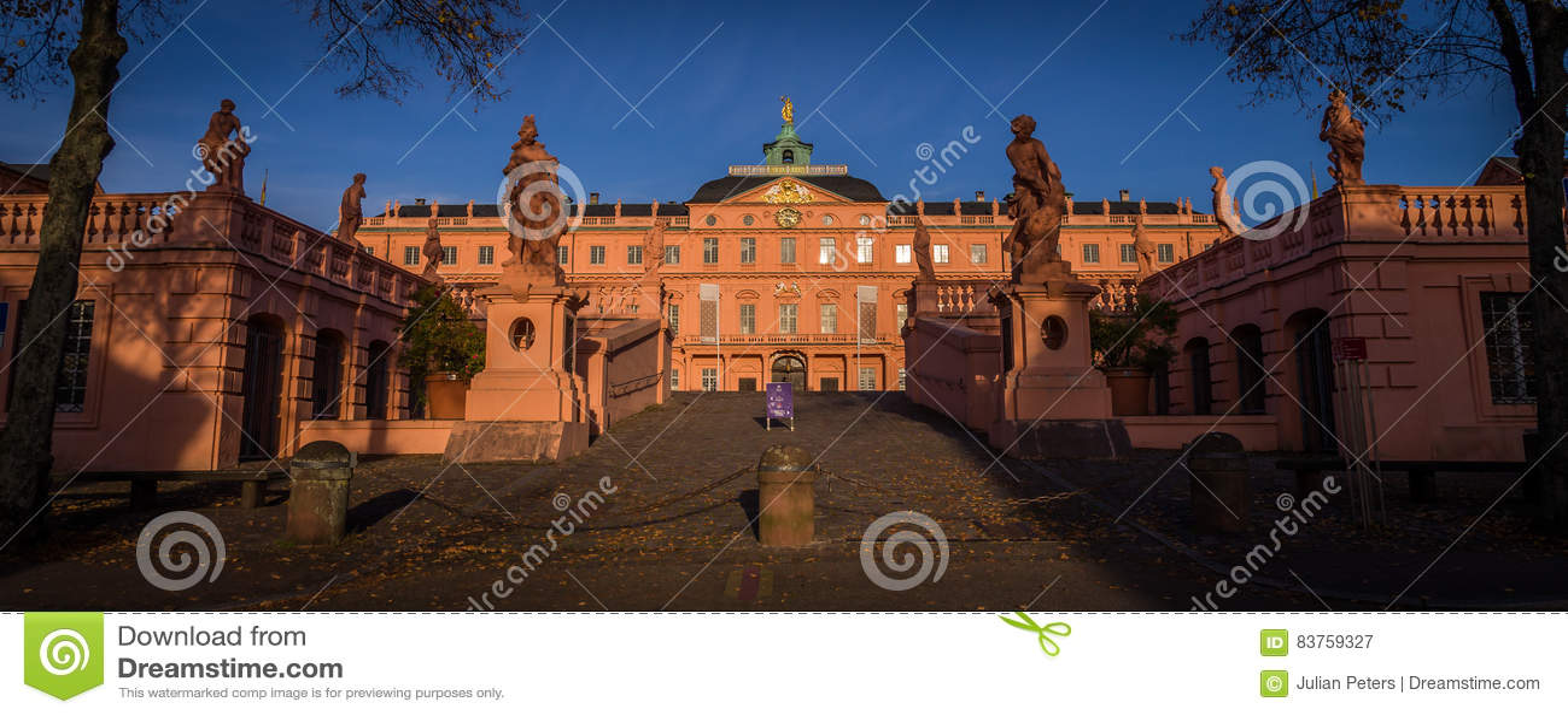 Rastatt Schloss, Baden, Duitsland