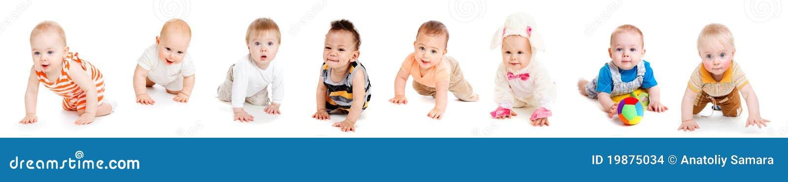 Rastejamento dos bebês