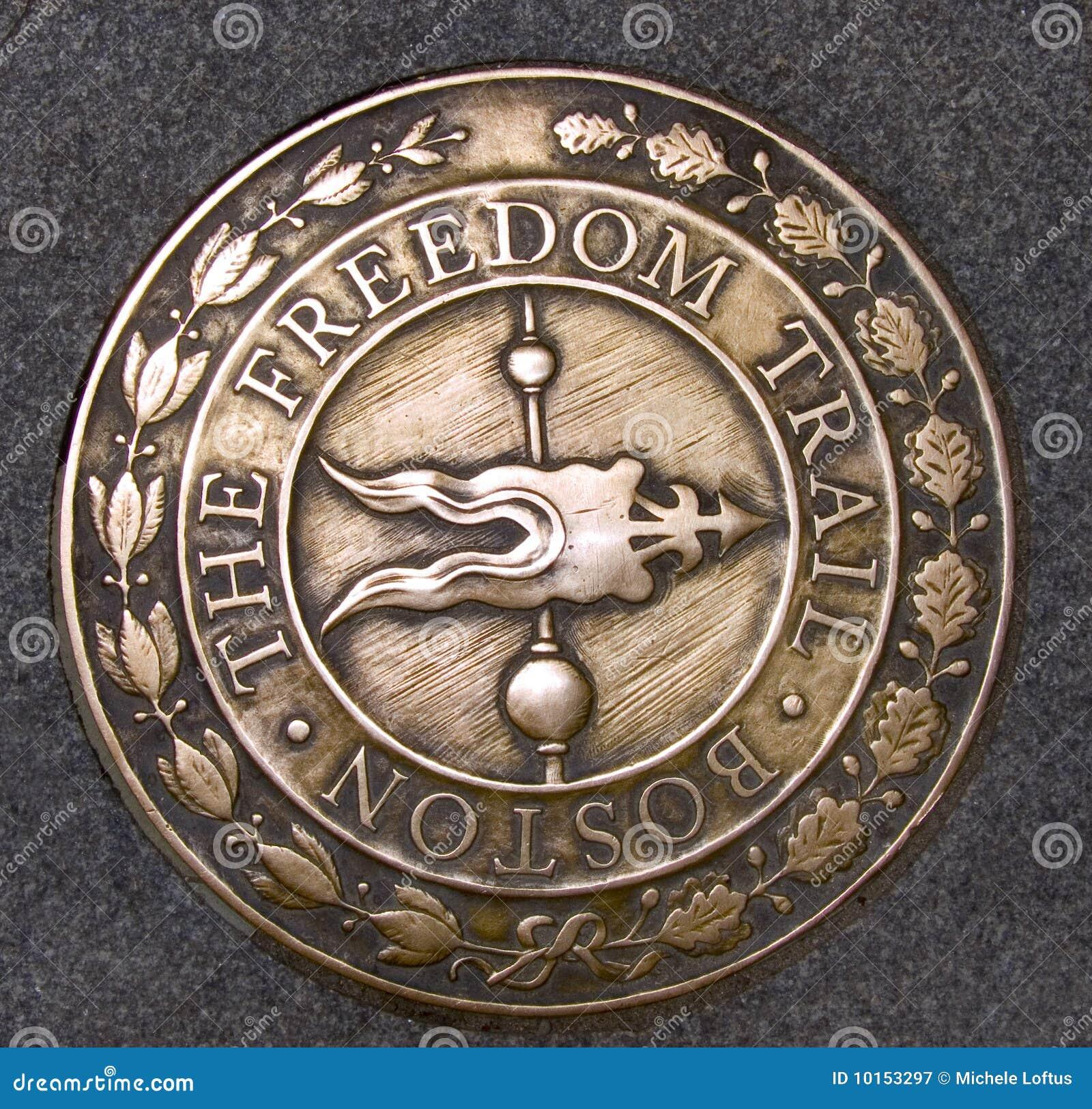 Rastro Boston Massachusetts de la libertad