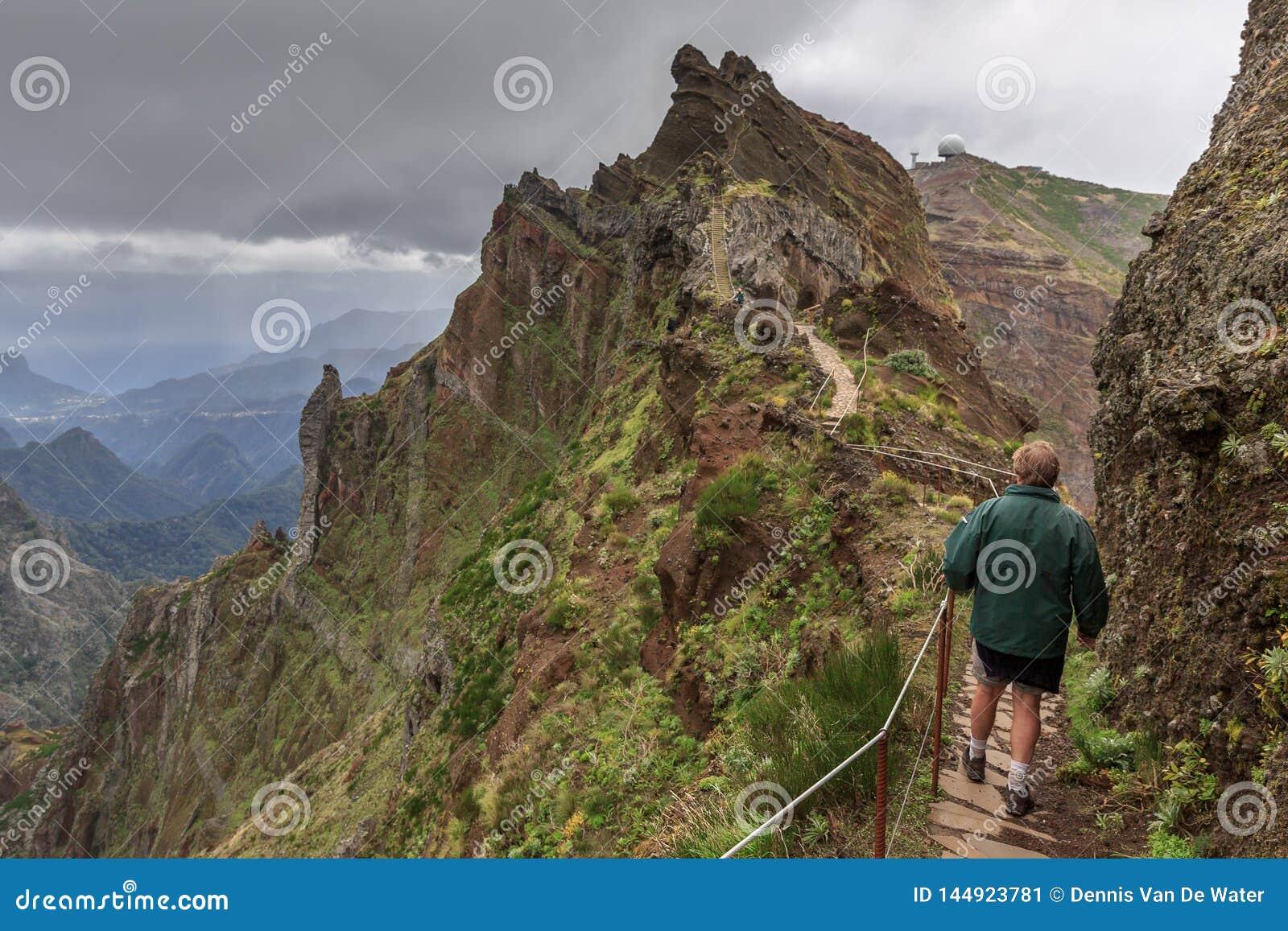 Rastro en el canto Madeira