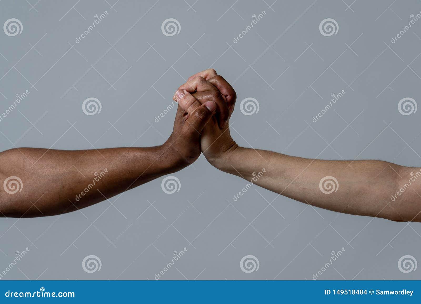 Rasy jednoczy? dla lepszy ?wiatu Konceptualny wizerunek przeciw rasizmowi