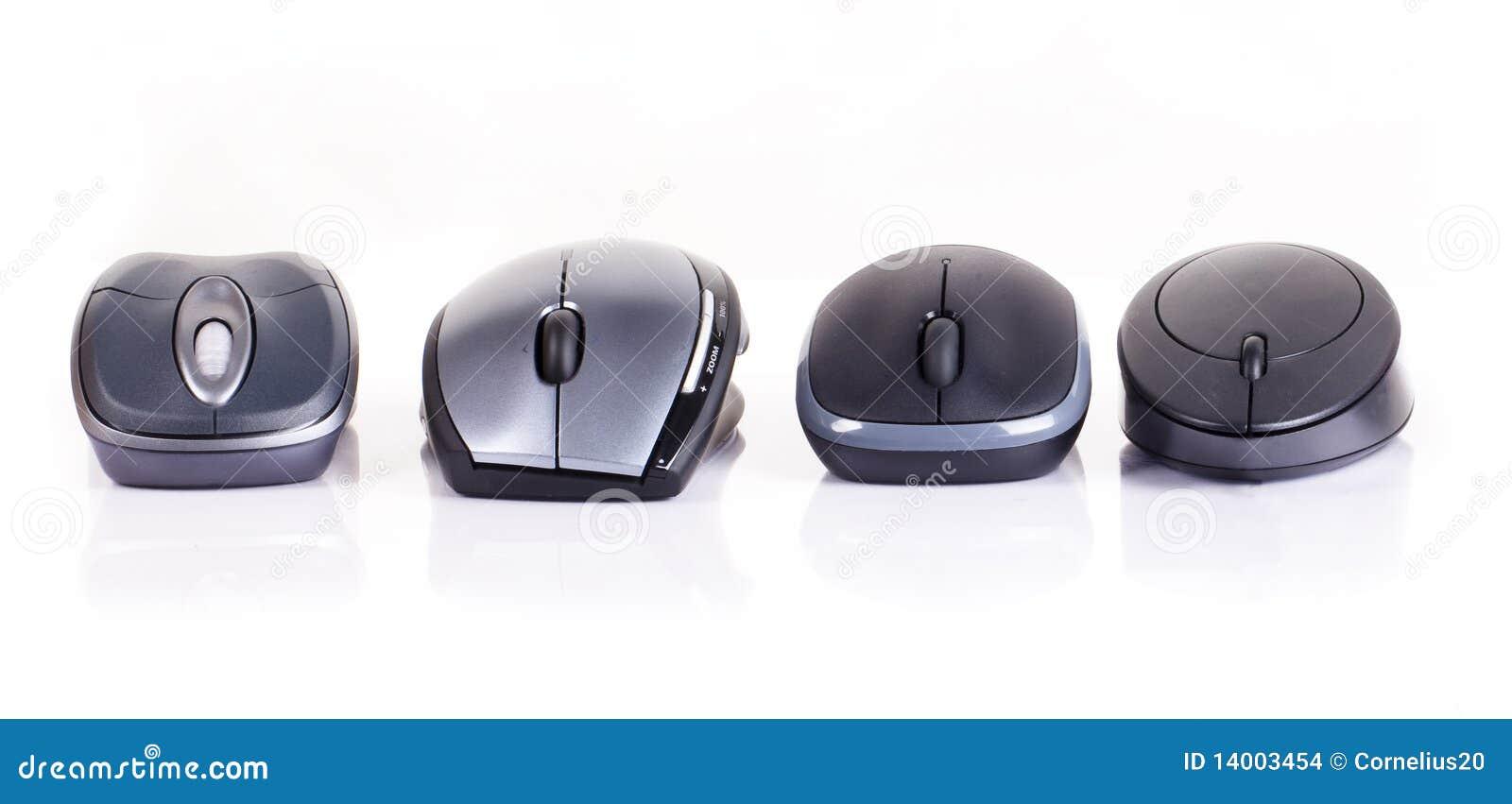 Ratón de cuatro ordenadores