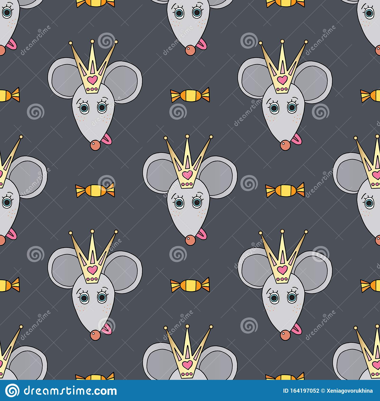 Rat Funny Character Vector Seamless Pattern Mouse Animal With Candies Crown Hand Drawn Cartoon Cute Pets Background Stock Vector Illustration Of Design Childish 164197052 It says so it right in the title, but it's also difficult to remember alvin is a chipmunk. dreamstime com