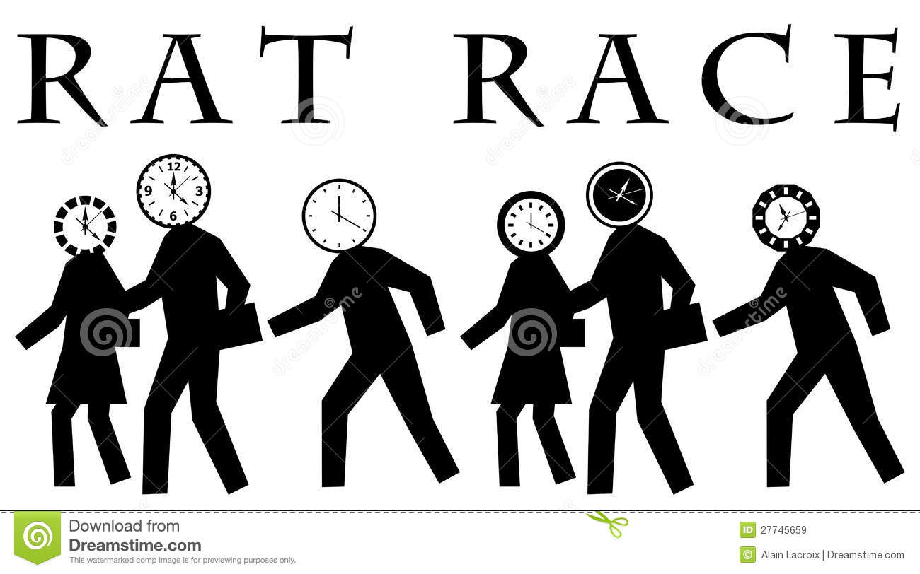 Rat Race Royalty Free Stock Images Image 27745659
