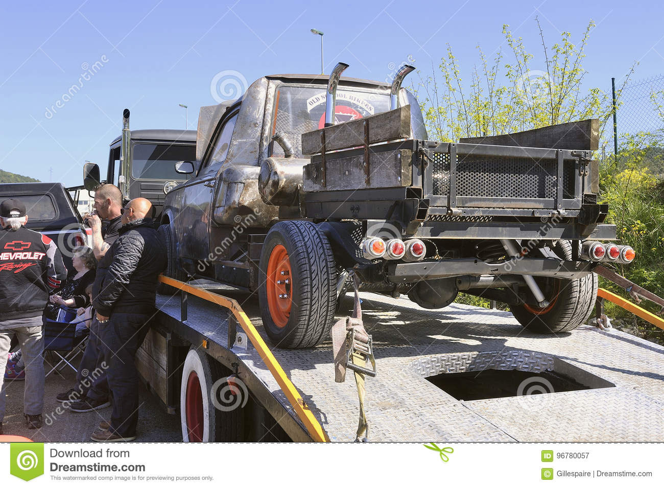 Rat Rod Peugeot 403 Editorial Photography Image Of Lifestyle 96780057