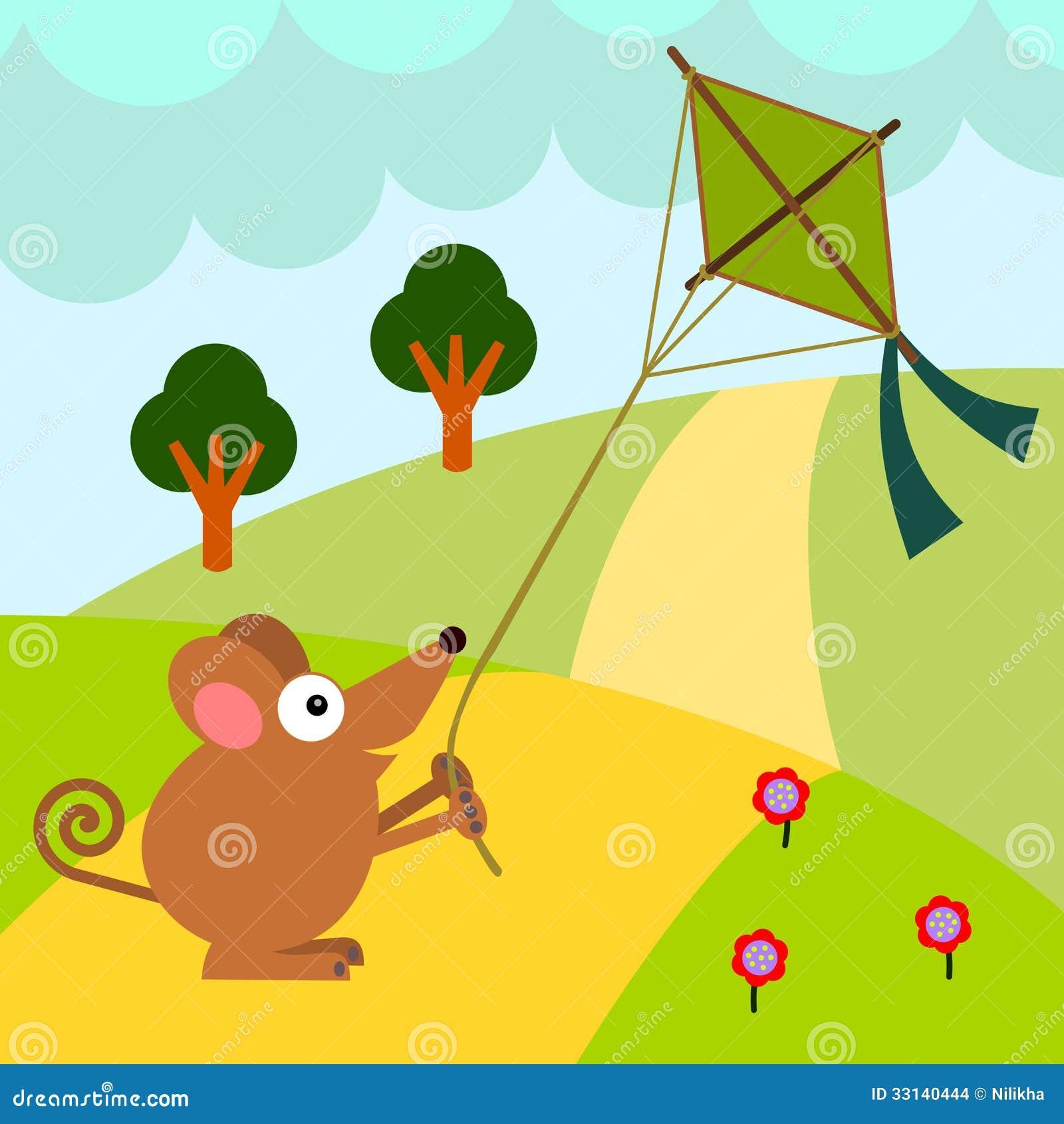 flying kite illustration - photo #46