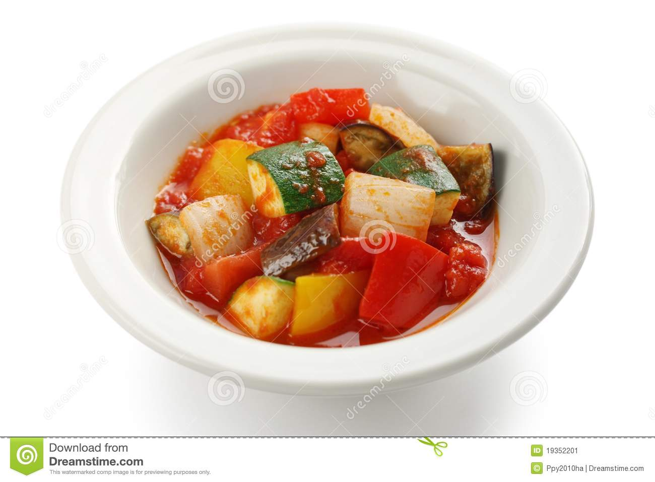 Ratatouille , French Vegetable Stew Stock Image - Image: 19352201