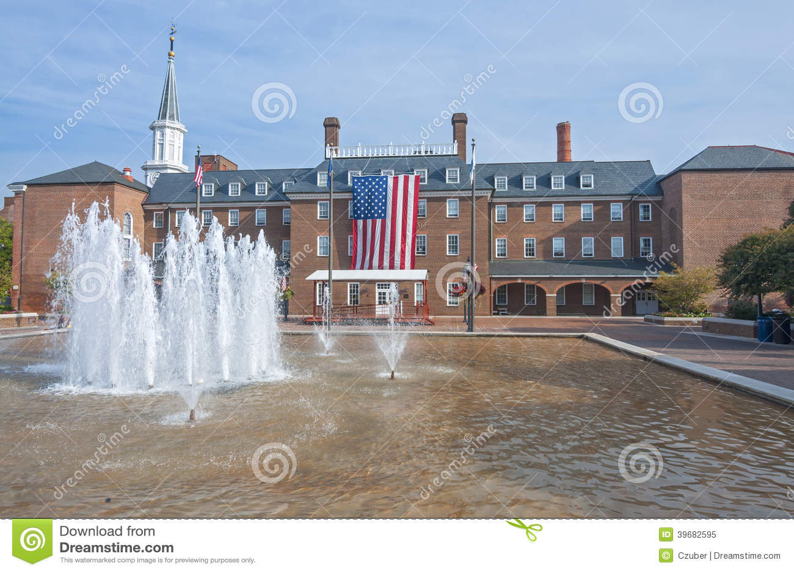 Rathaus in Alexandria, Virginia