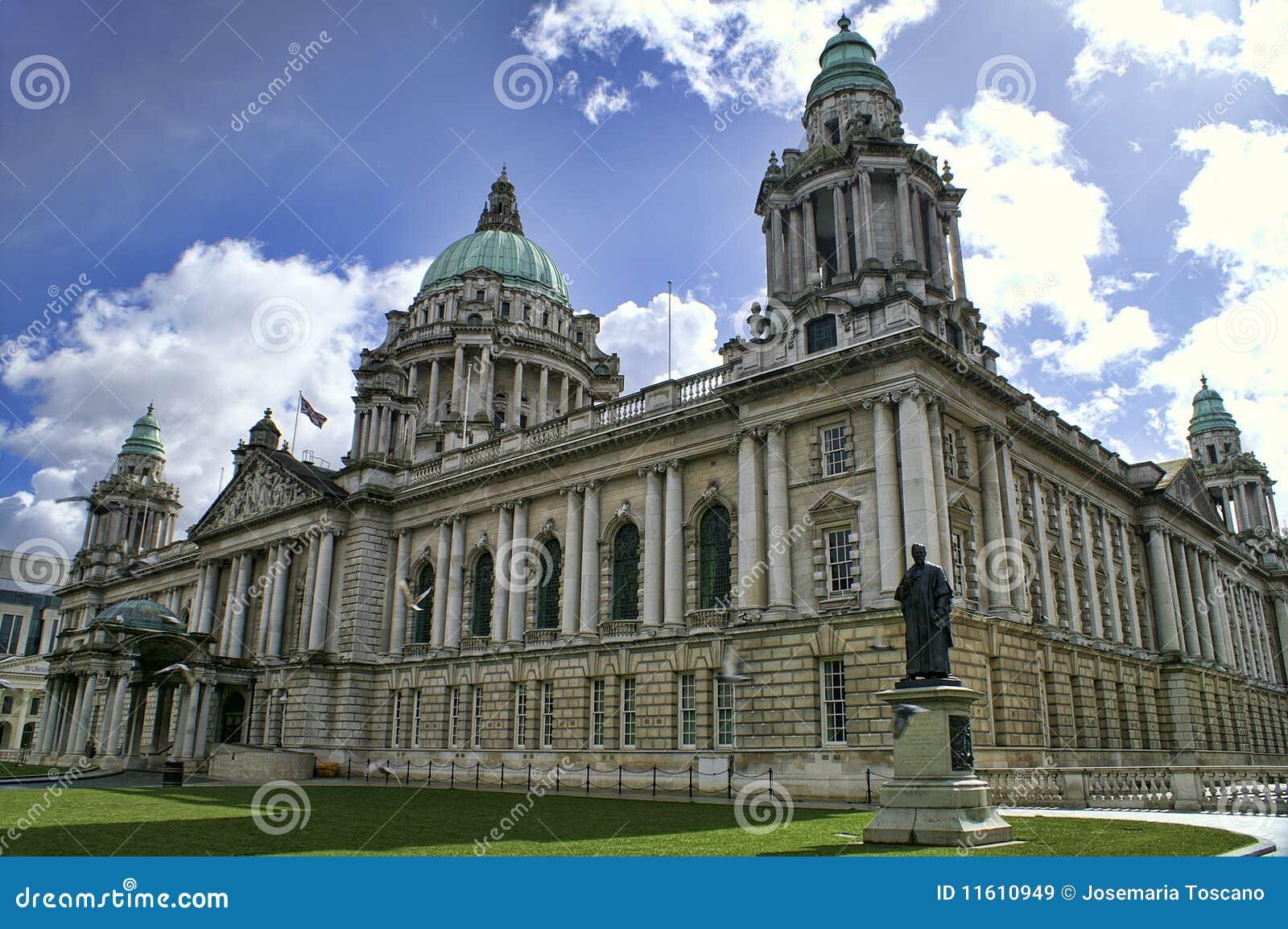 Rathaus, Belfast Nordirland