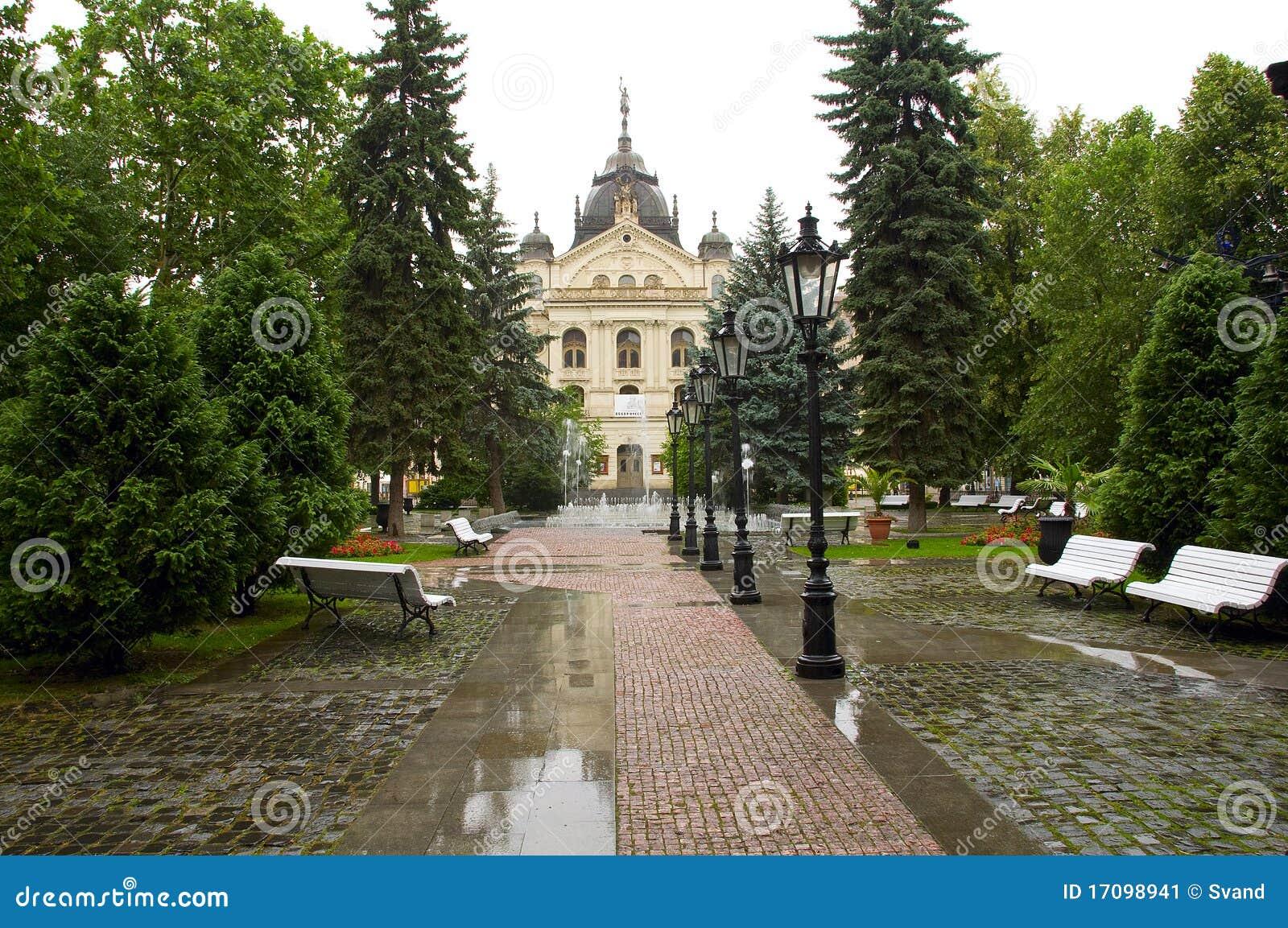 Rathaus der slowakischen Stadt Kosice