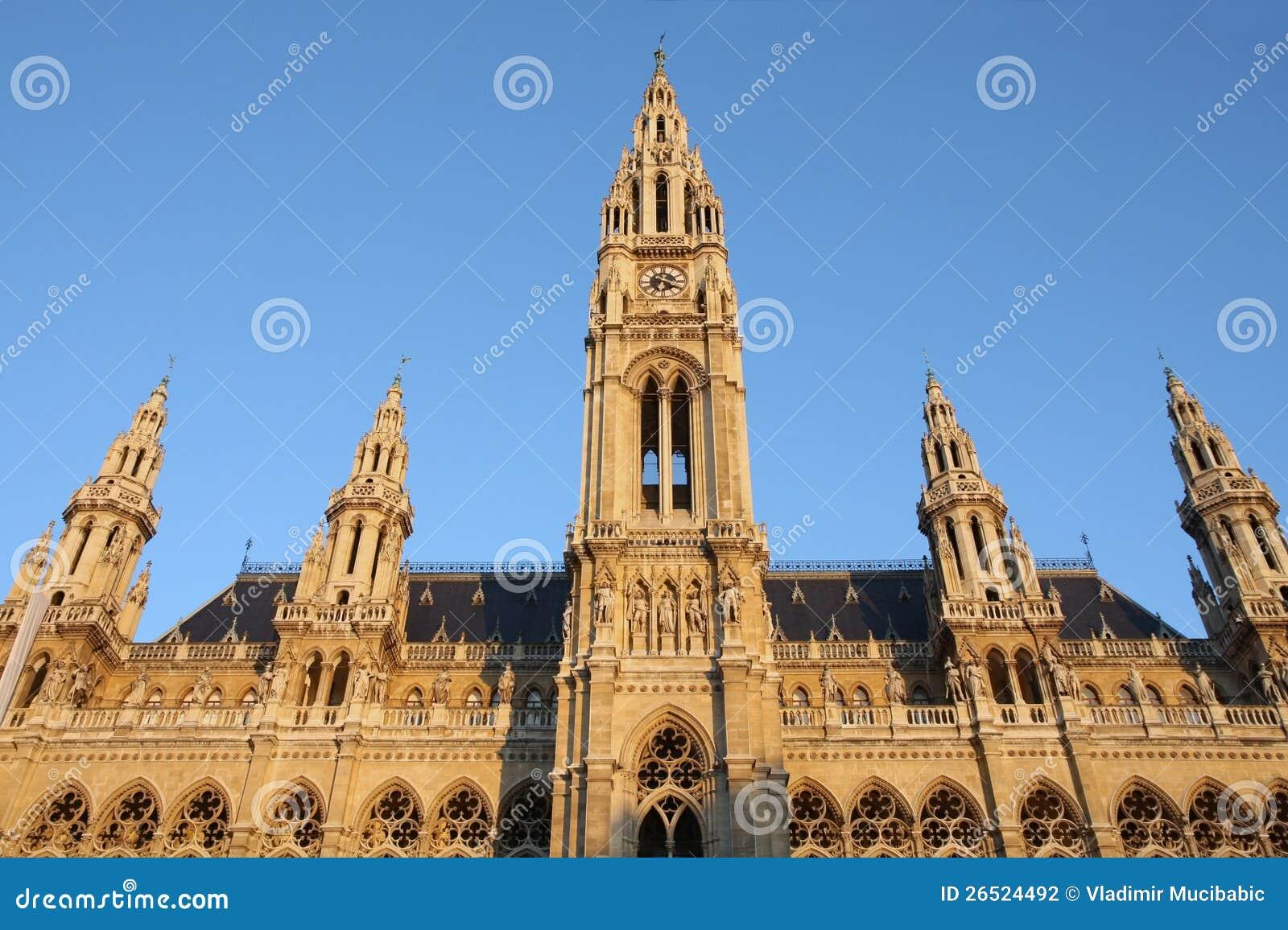 Rathaus em Viena, Áustria
