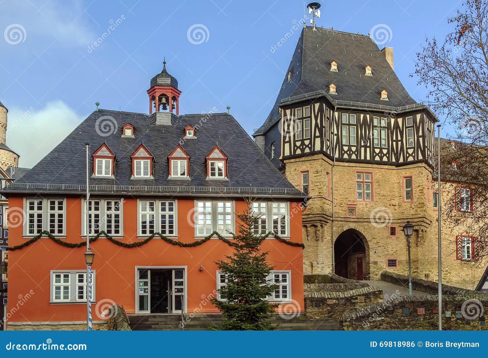 Rathaus in Idstein, Deutschland