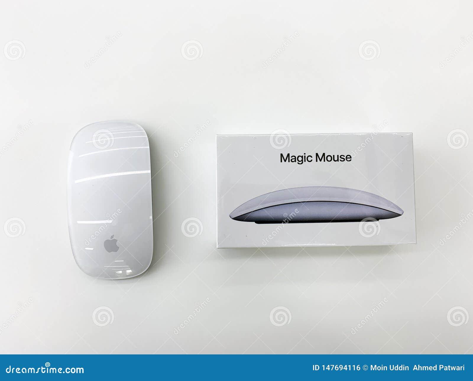 Rato de Apple Bluetooth na cor branca - imagem