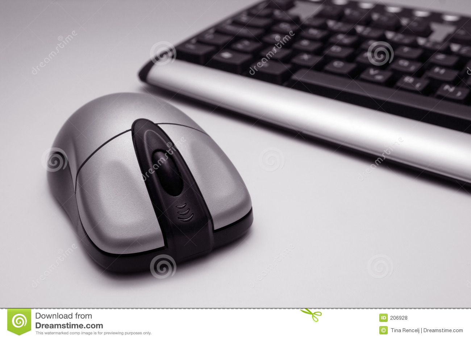 Rato e teclado sem fio