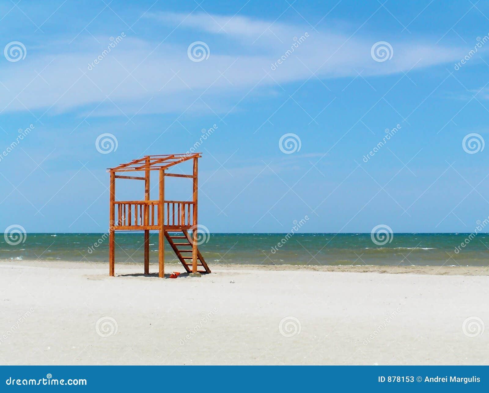 Ratownik plażowa stacji