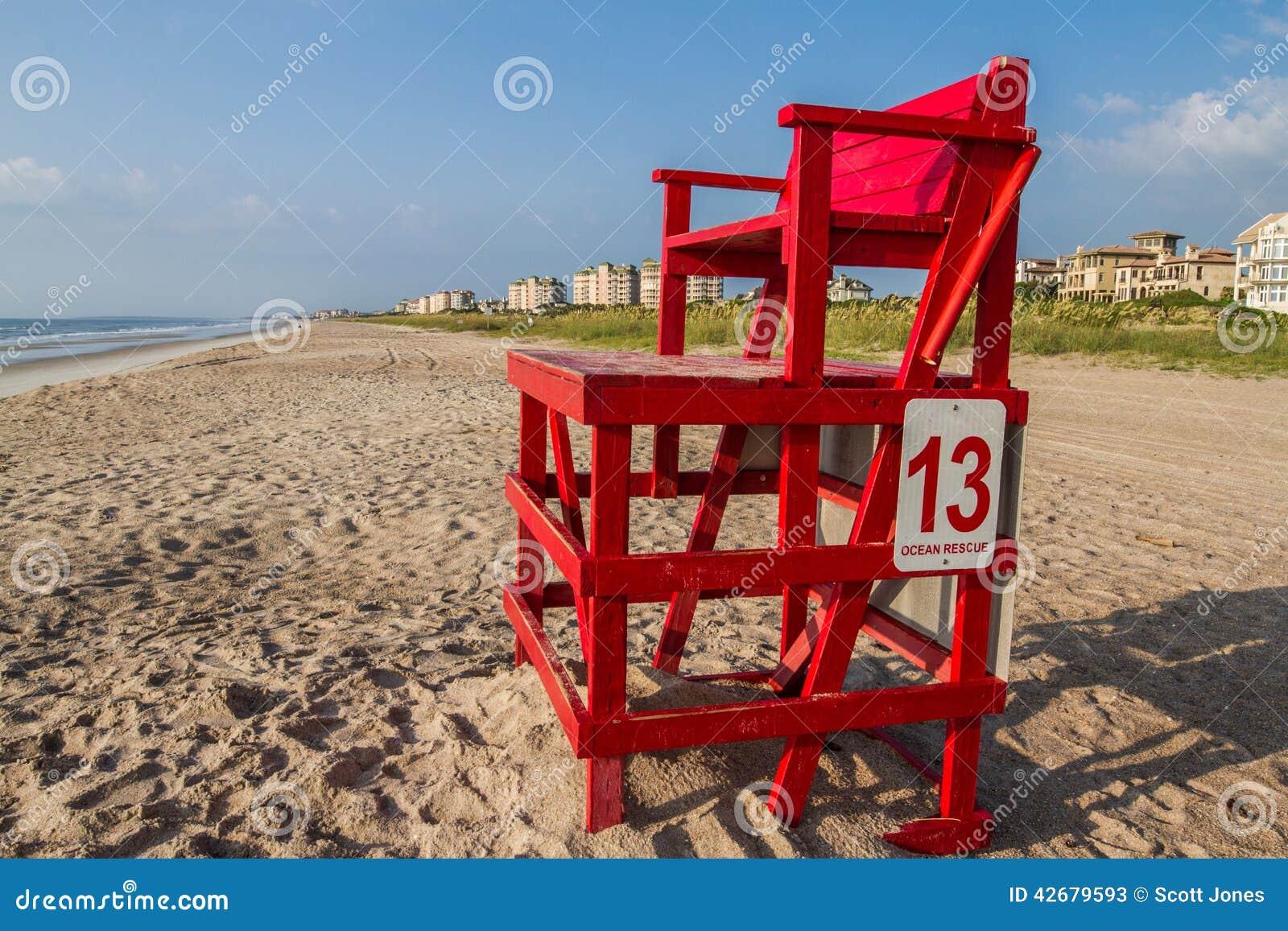 Ratownika krzesło