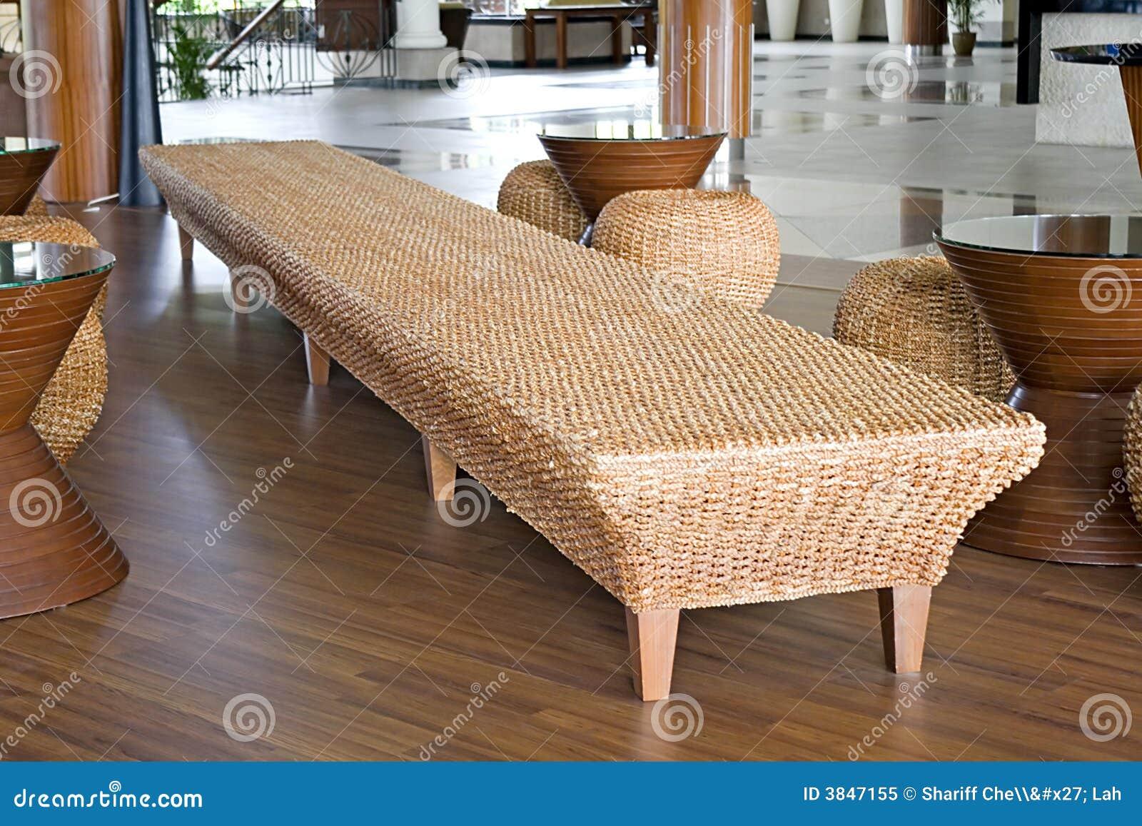 Rattan and jute furniture stock image image of furniture - Muebles de rattan ...