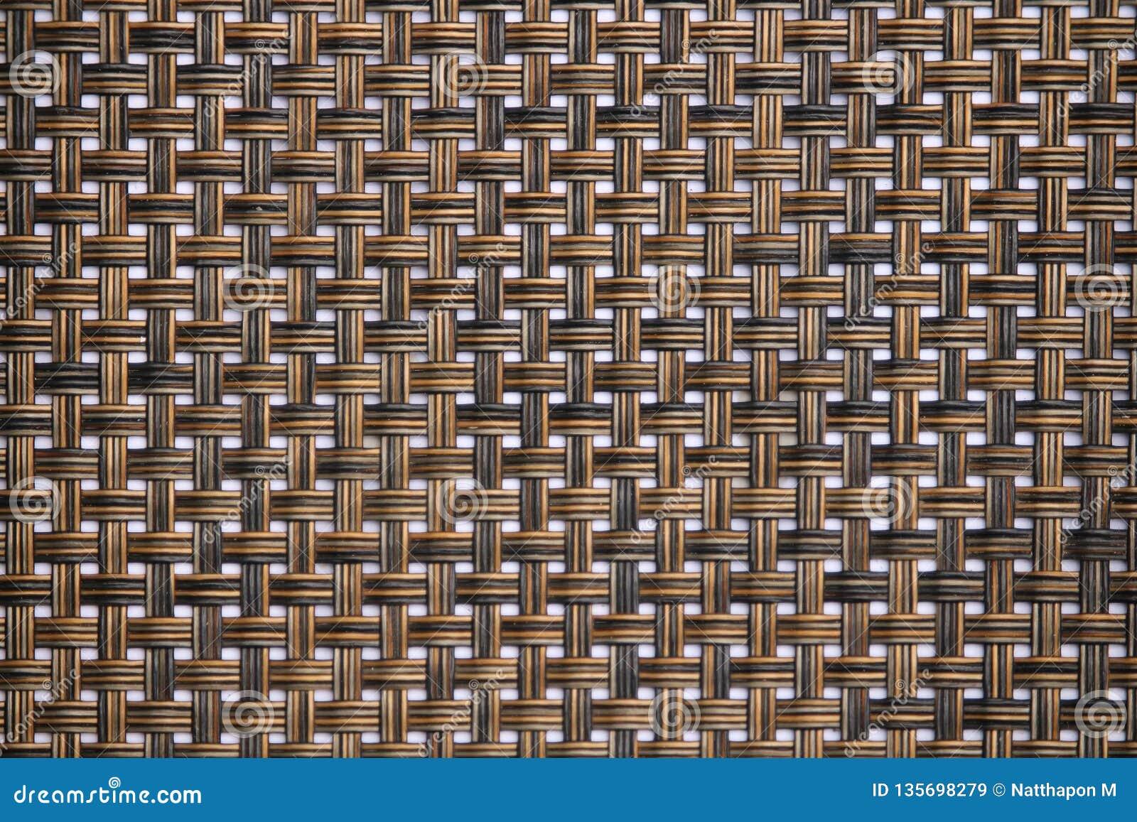 Rattan texture, detail handcraft bamboo weaving texture background