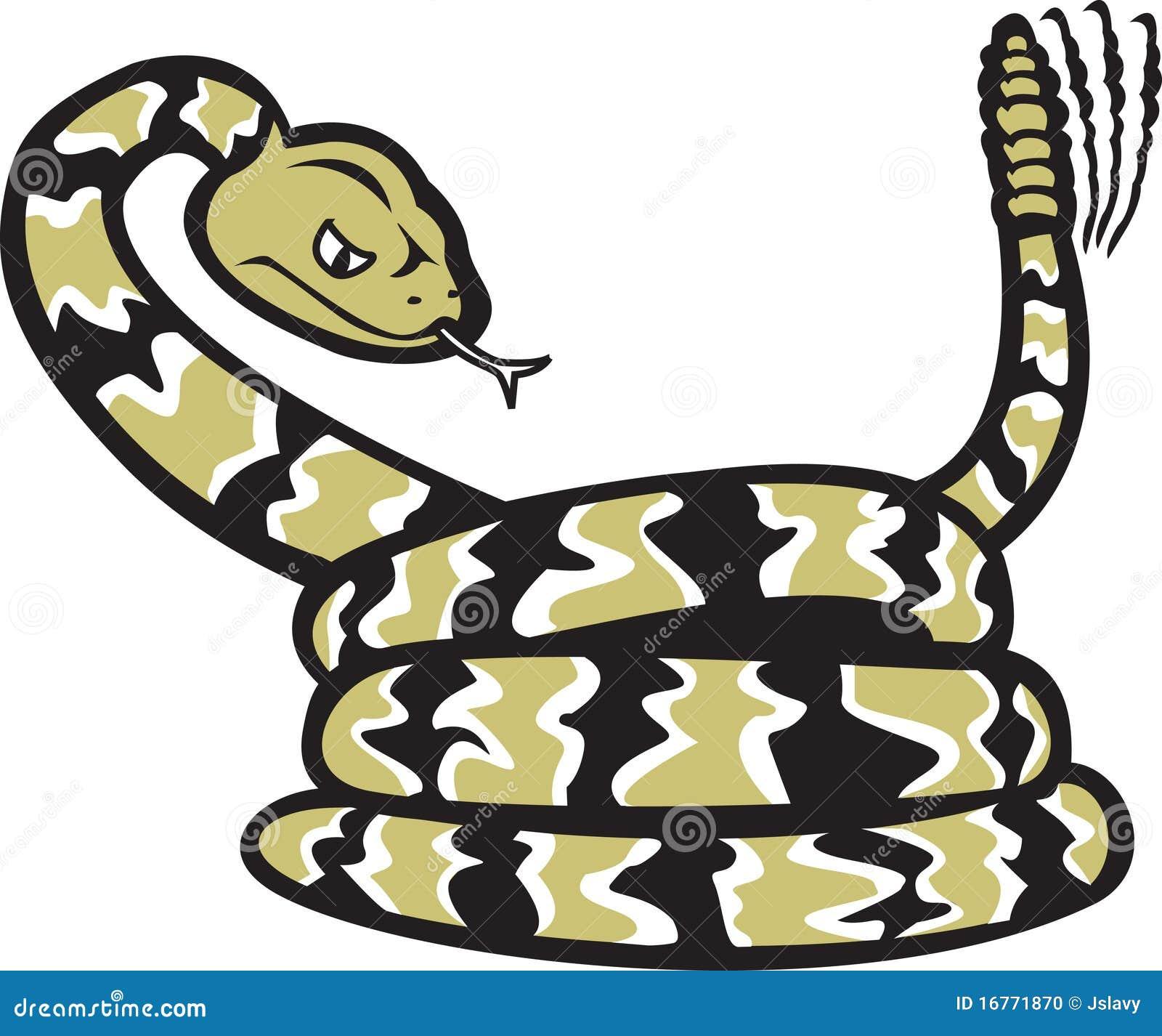 Rattlesnake Cartoon Rattlesnake Clipart