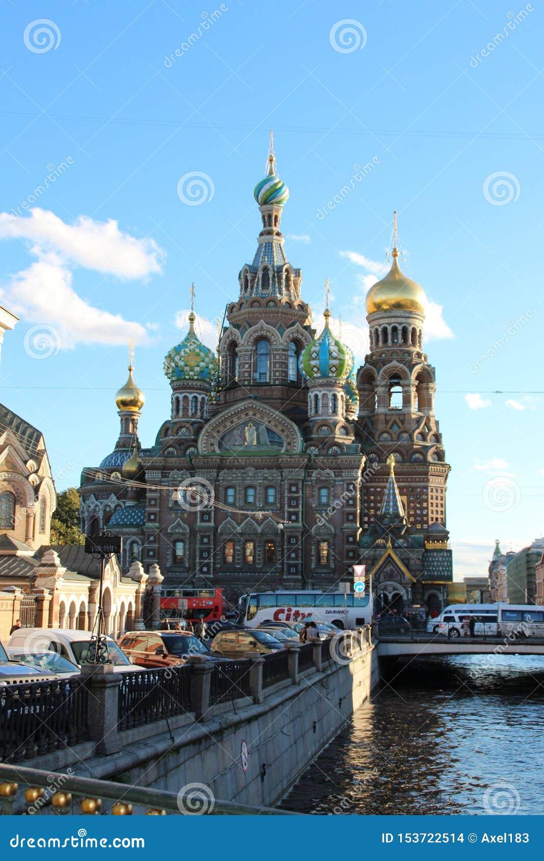 Ratujący na krwi St Petersburg