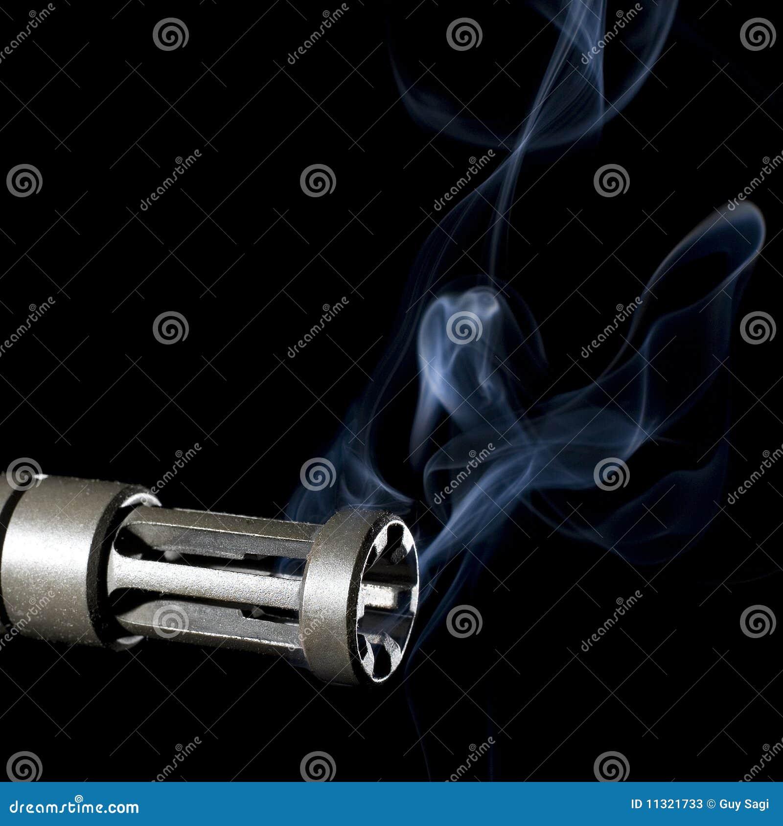 Rauchendes Faß